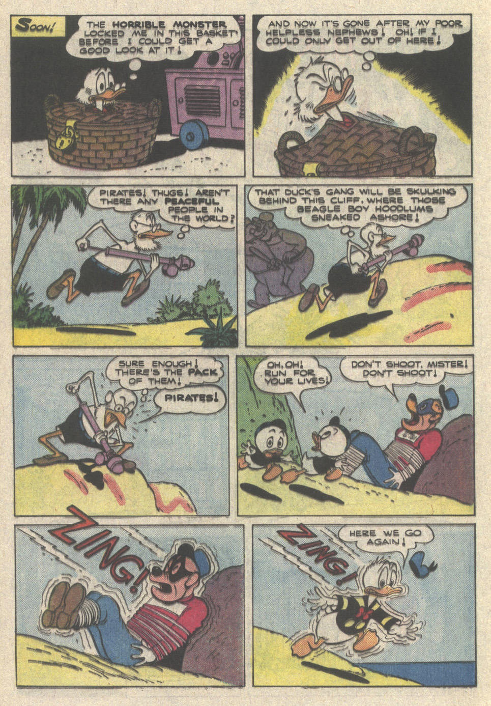 Read online Uncle Scrooge (1953) comic -  Issue #222 - 24