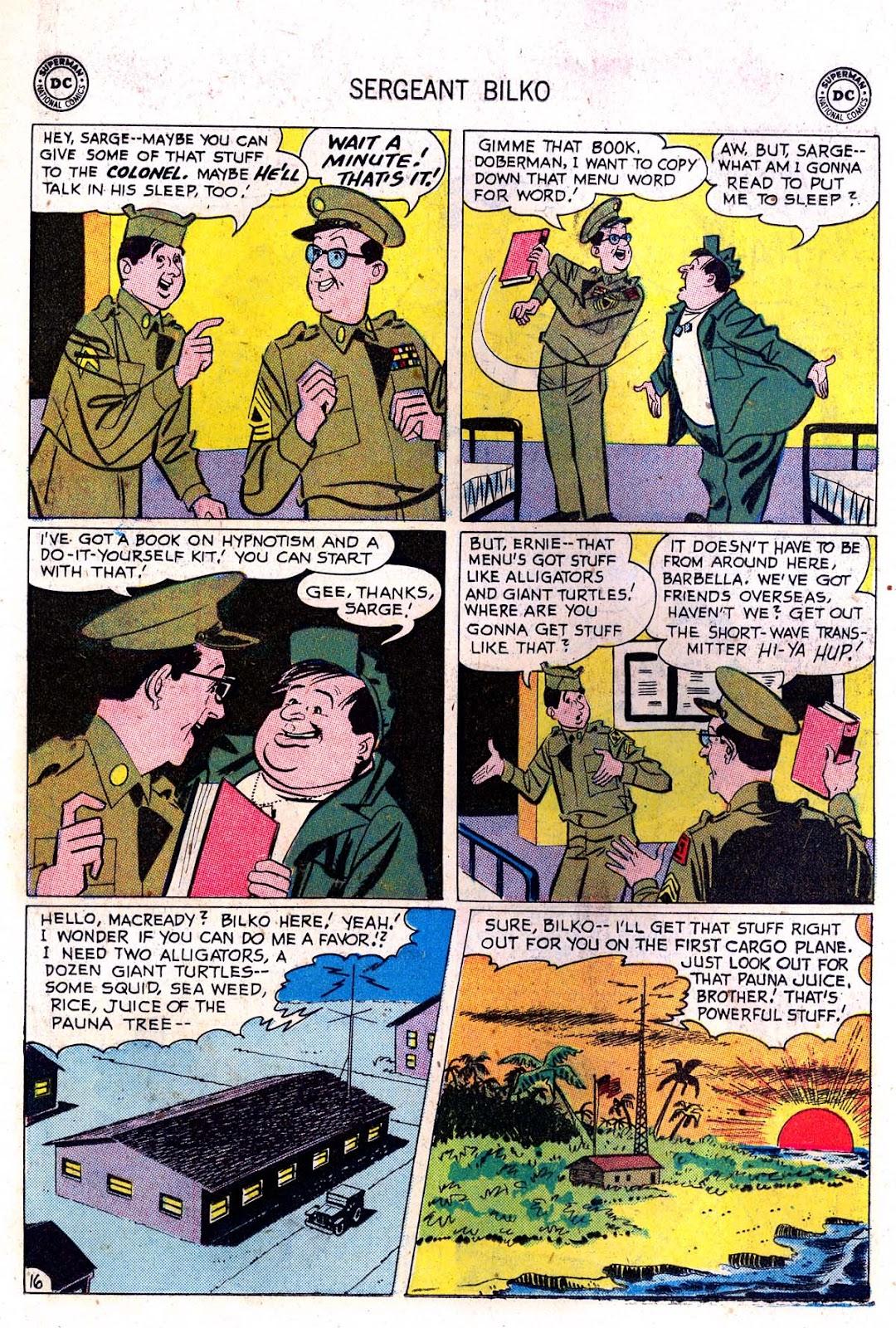 Sergeant Bilko issue 7 - Page 18