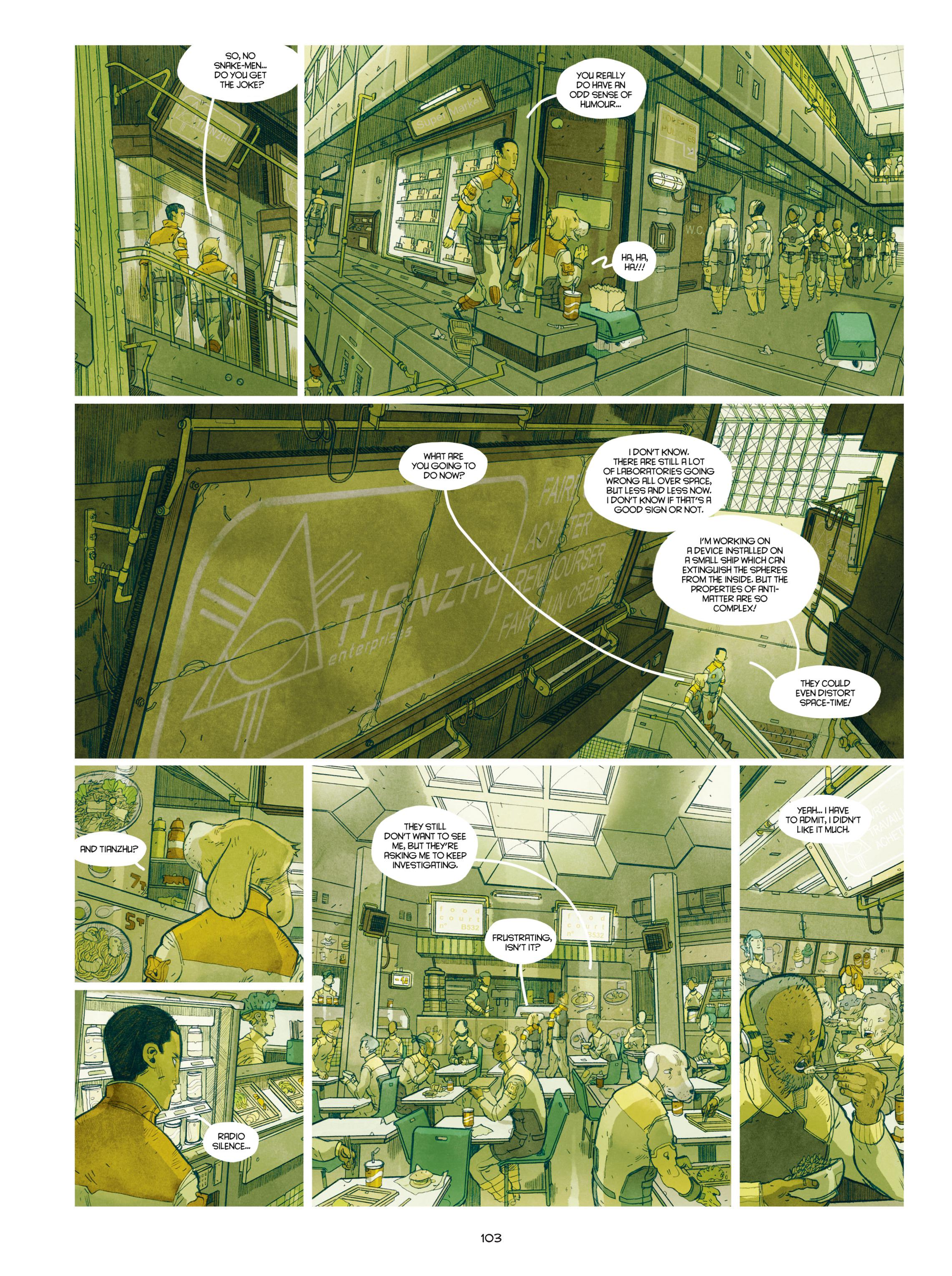 Read online Shangri-La comic -  Issue # Full - 104