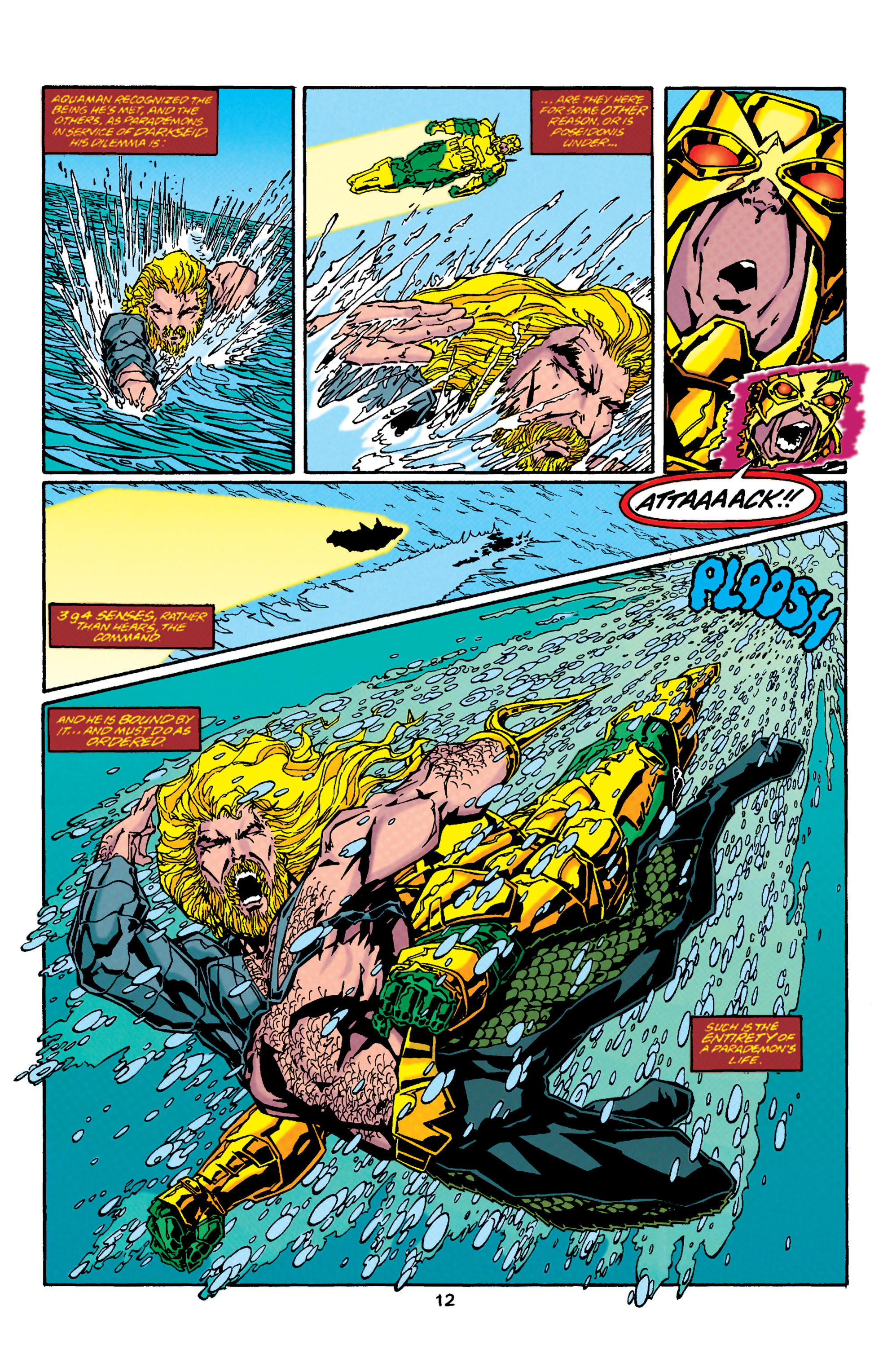 Read online Aquaman (1994) comic -  Issue #37 - 12