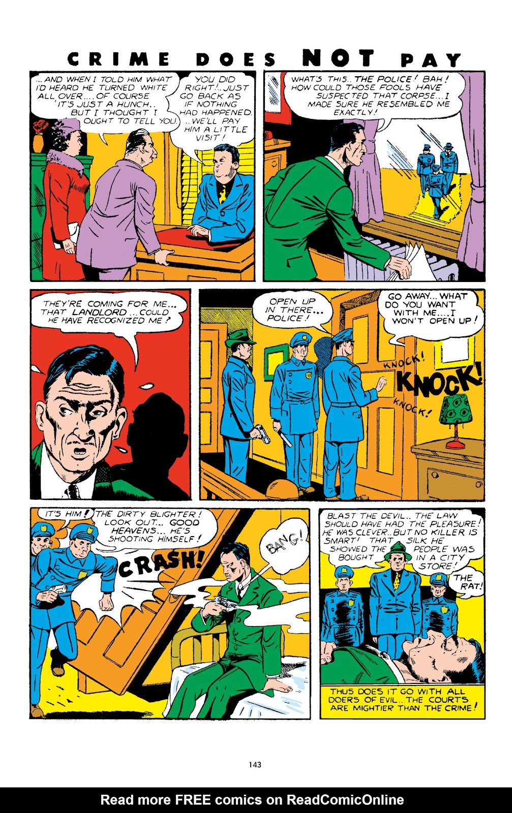 Read online Crime Does Not Pay Archives comic -  Issue # TPB 4 (Part 2) - 43