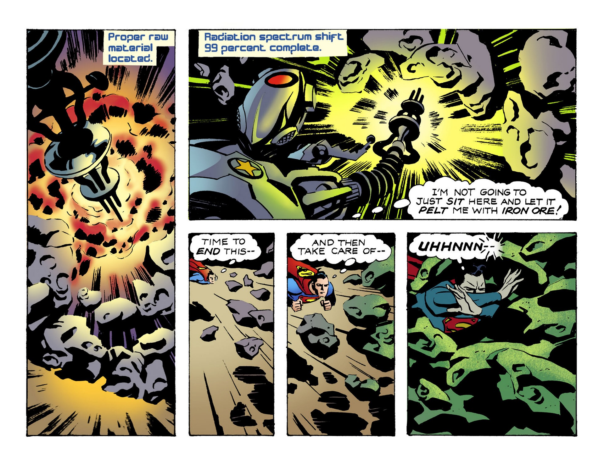 Read online Adventures of Superman [I] comic -  Issue #51 - 10
