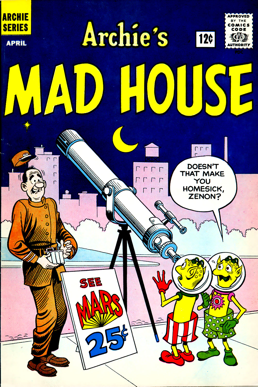 Archie's Madhouse issue 18 - Page 1