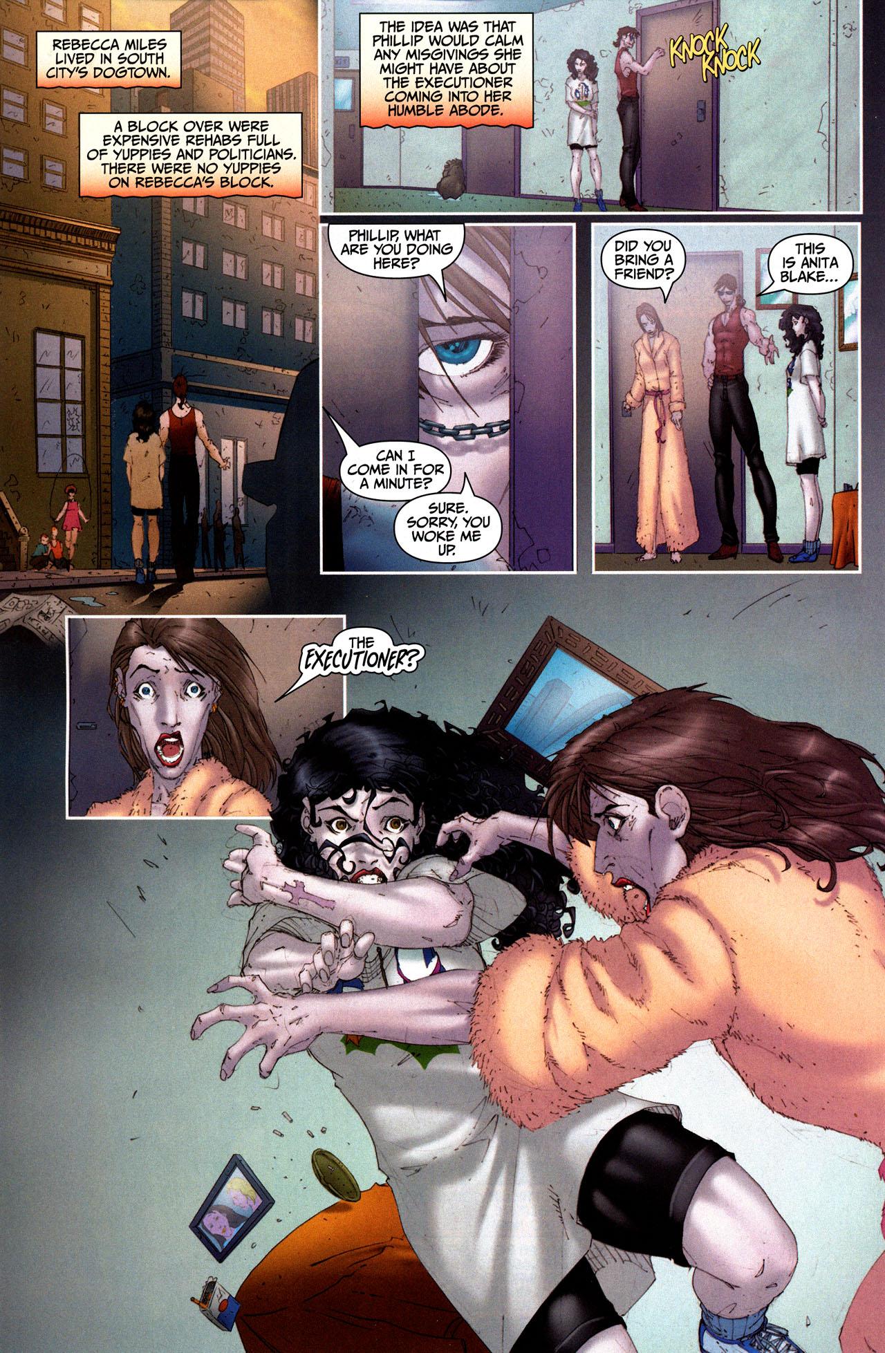 Read online Anita Blake, Vampire Hunter: Guilty Pleasures comic -  Issue #5 - 16