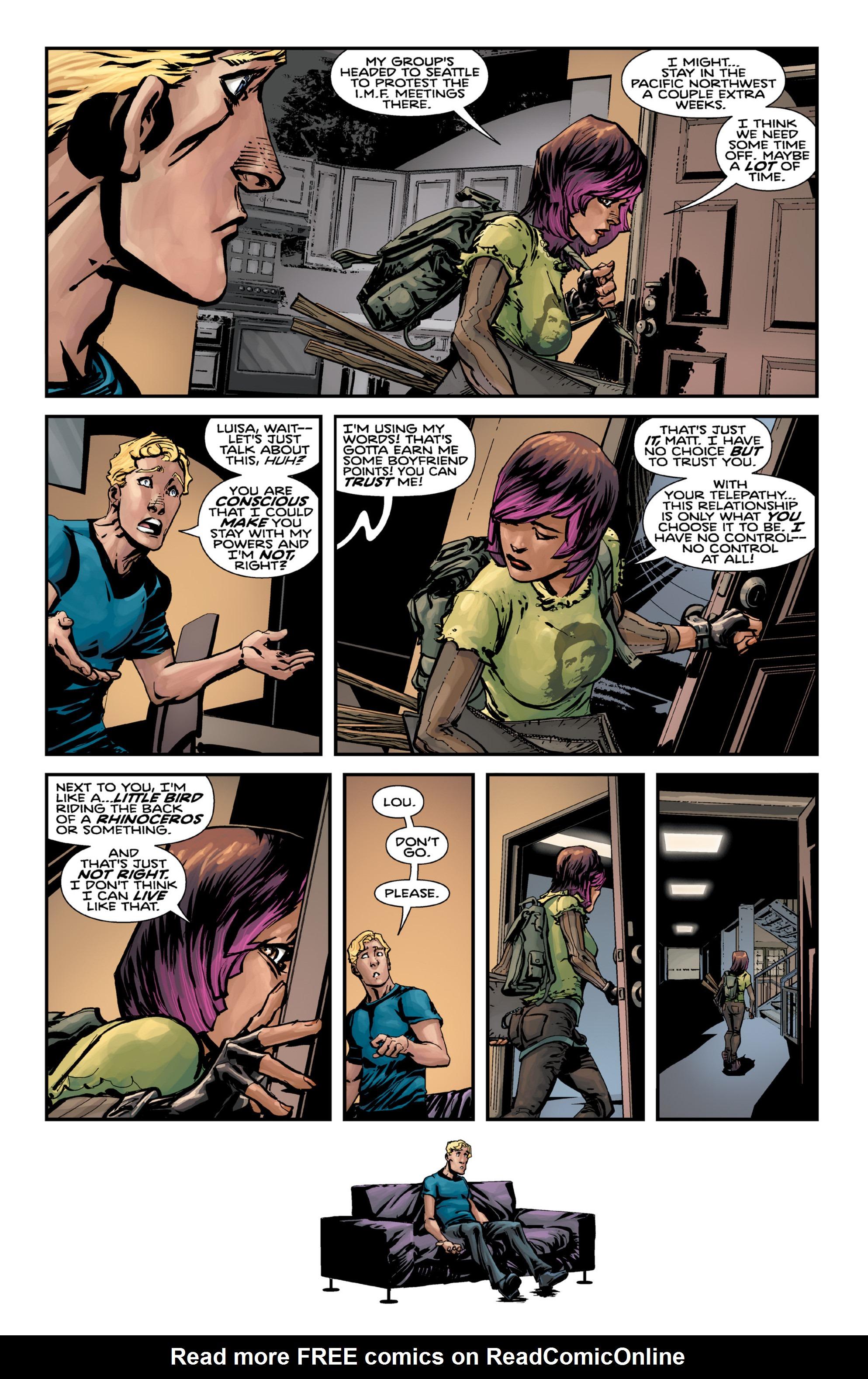Read online Brain Boy:  The Men from G.E.S.T.A.L.T. comic -  Issue # TPB - 21