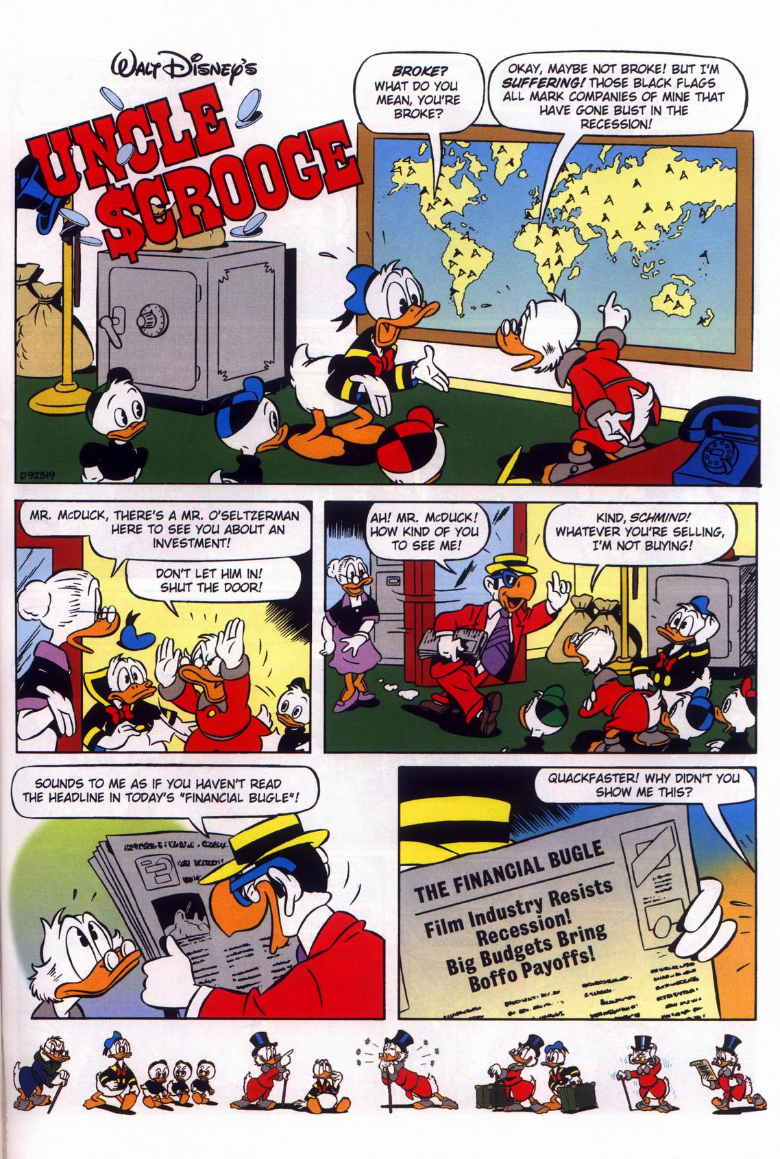 Read online Uncle Scrooge (1953) comic -  Issue #316 - 35