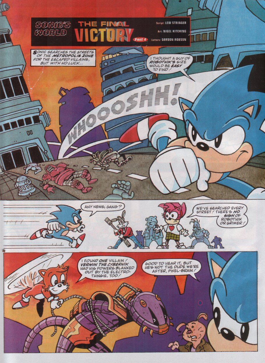 Read online Sonic the Comic comic -  Issue #100 - 22