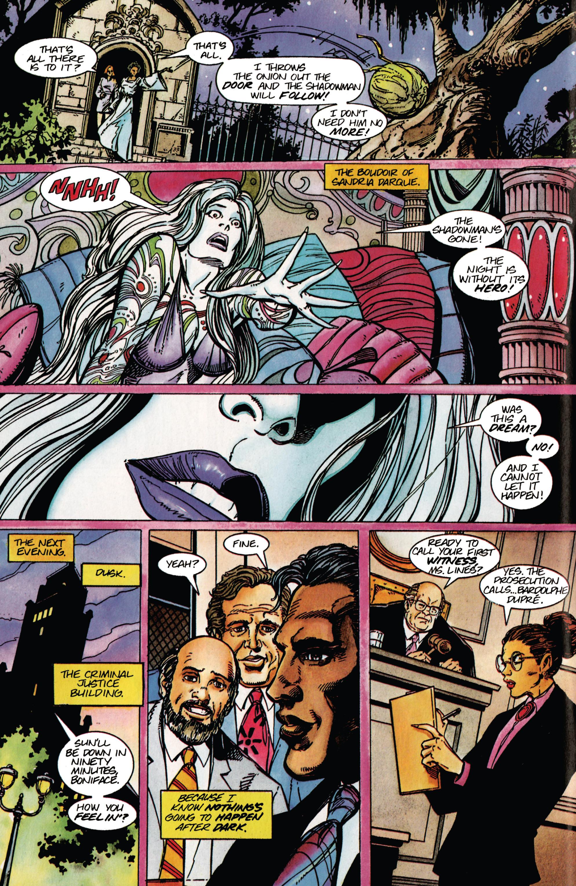 Read online Shadowman (1992) comic -  Issue #42 - 11