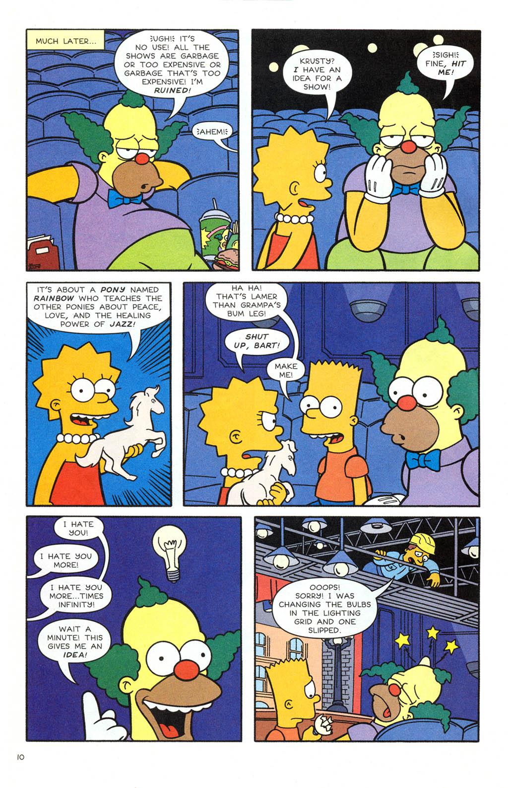Read online Simpsons Comics comic -  Issue #106 - 11