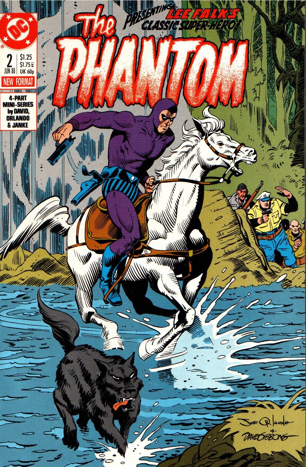 Read online The Phantom (1988) comic -  Issue #2 - 1