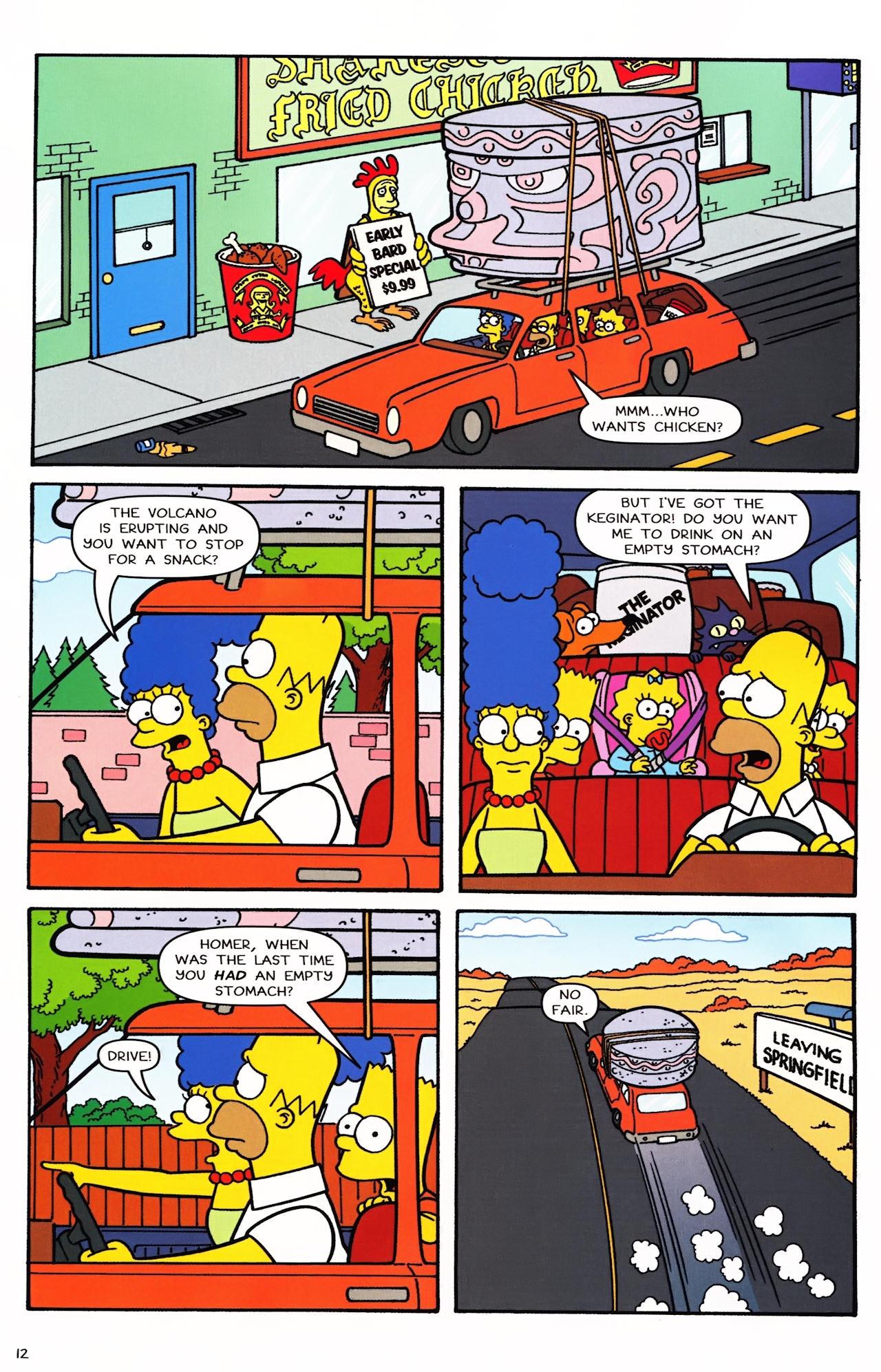 Read online Simpsons Comics comic -  Issue #152 - 11