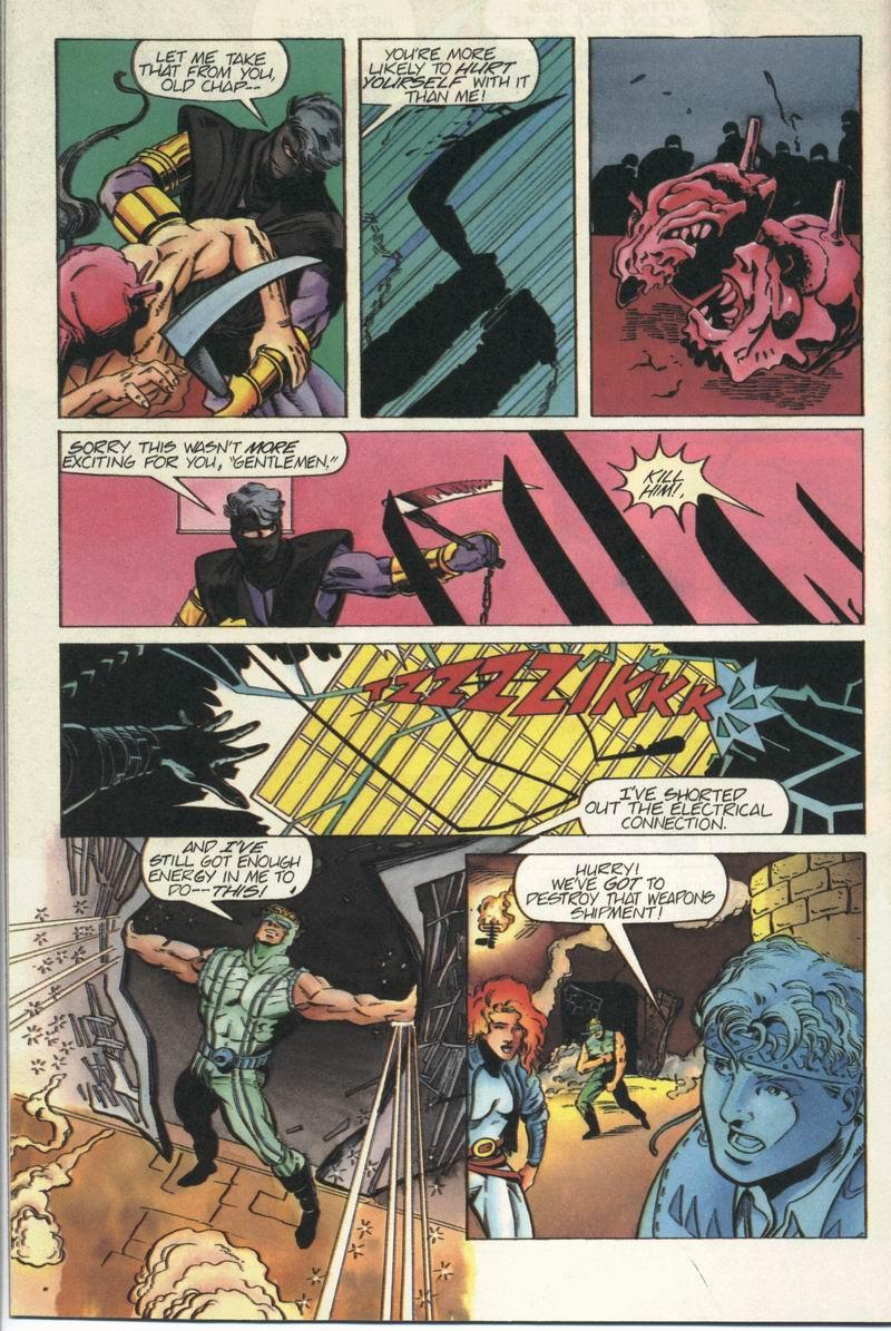 Read online Secret Weapons comic -  Issue #5 - 19