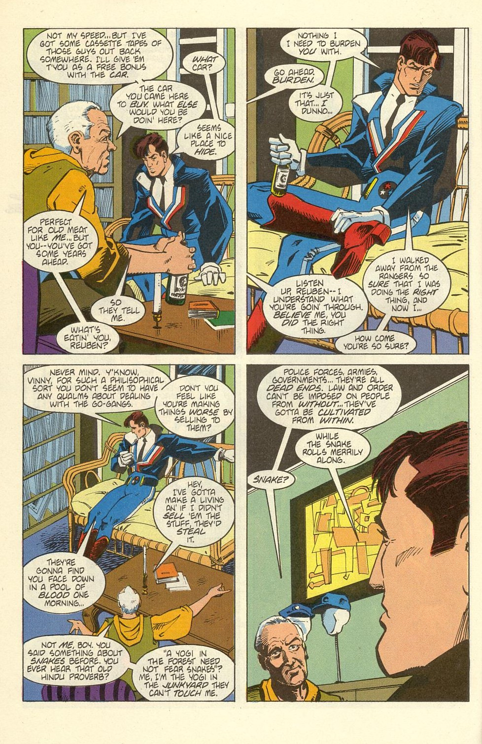 Read online American Flagg! comic -  Issue #39 - 12