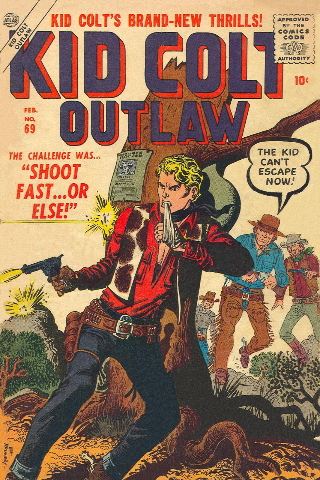 Kid Colt Outlaw issue 69 - Page 1