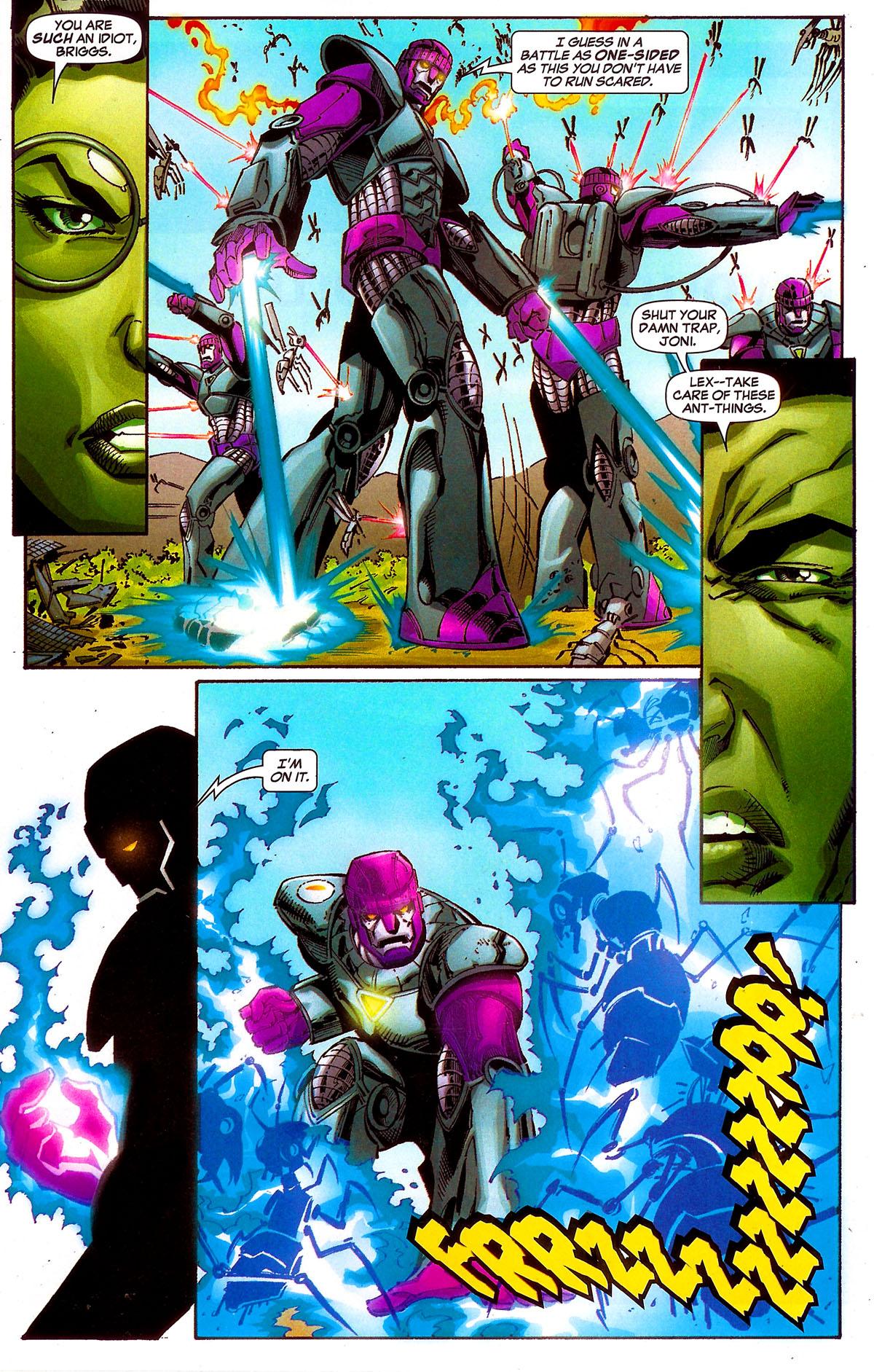 Read online Sentinel Squad O*N*E comic -  Issue #5 - 12