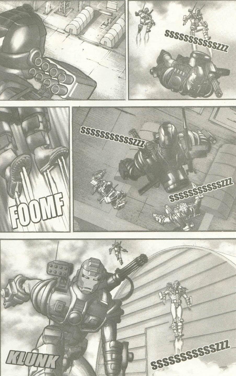 Read online U.S. War Machine comic -  Issue #6 - 13