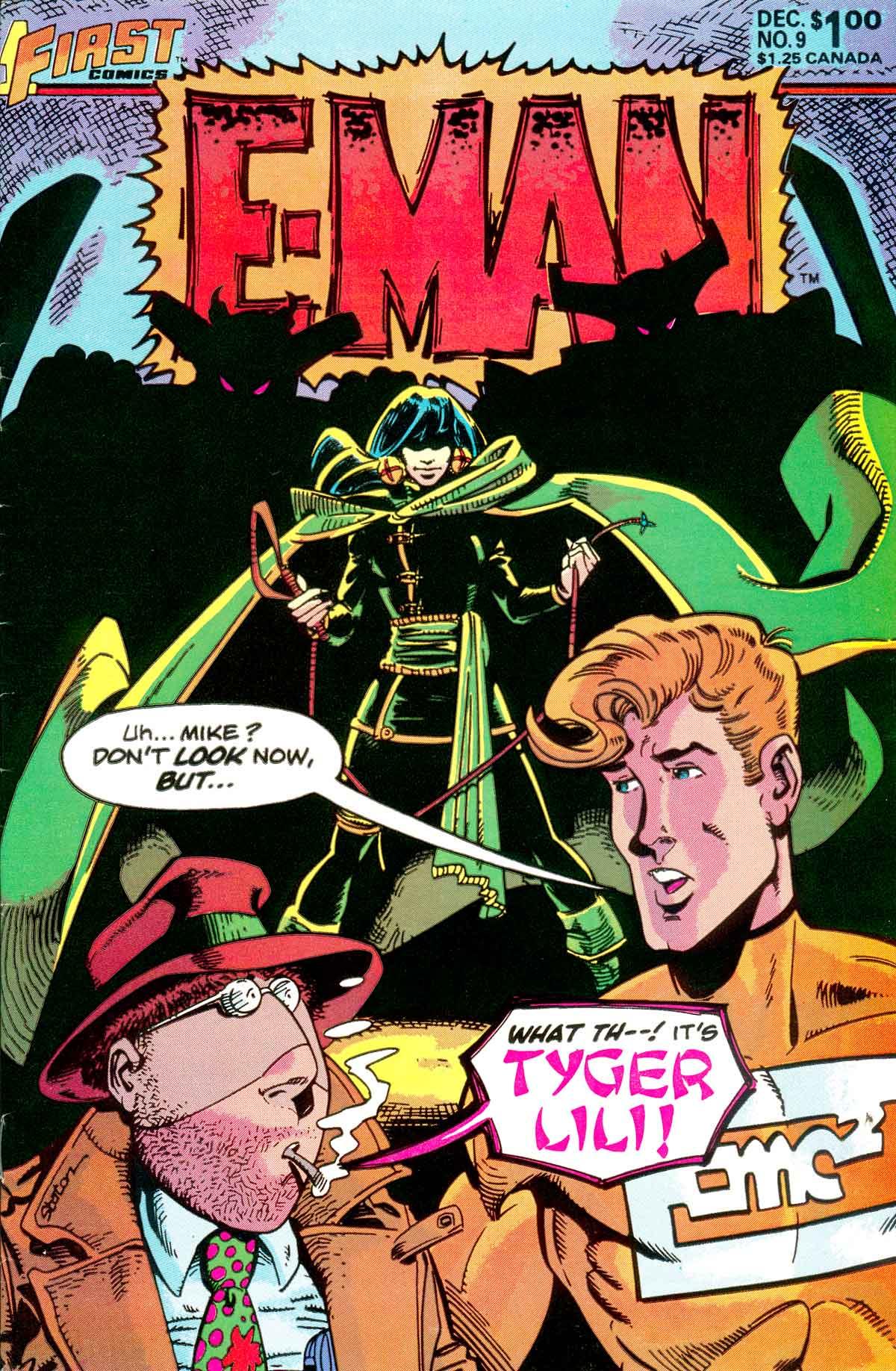 E-Man (1983) 9 Page 1