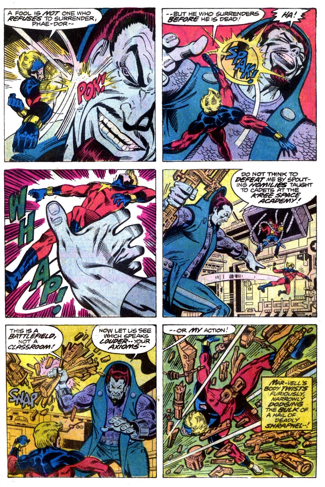 Captain Marvel (1968) issue 52 - Page 12