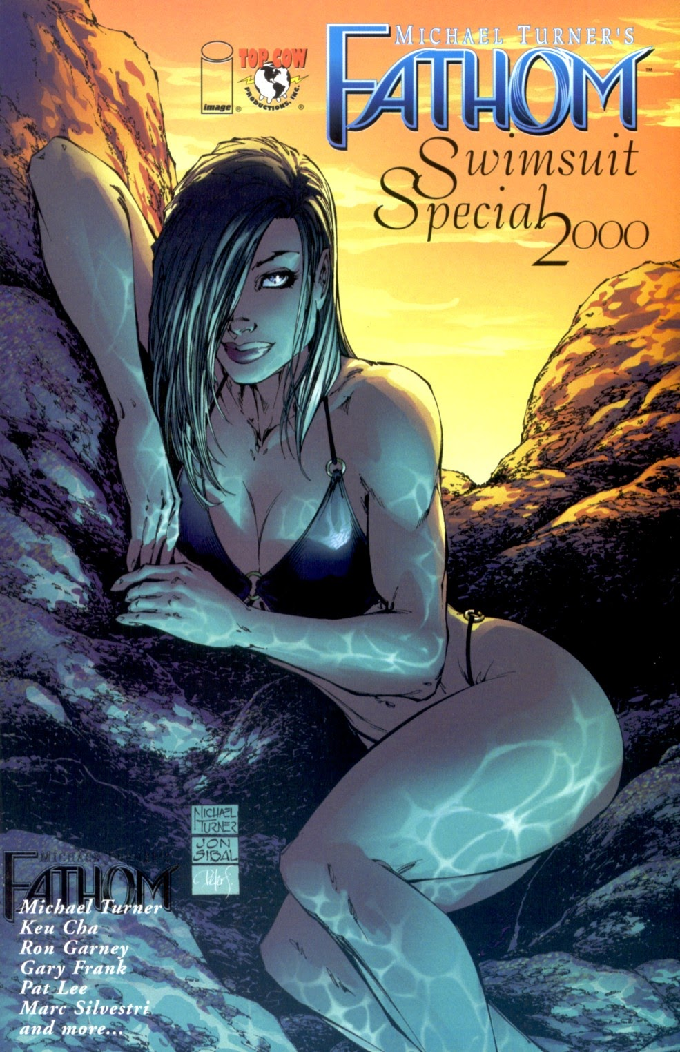 Read online Fathom Swimsuit Special comic -  Issue #2 - 1