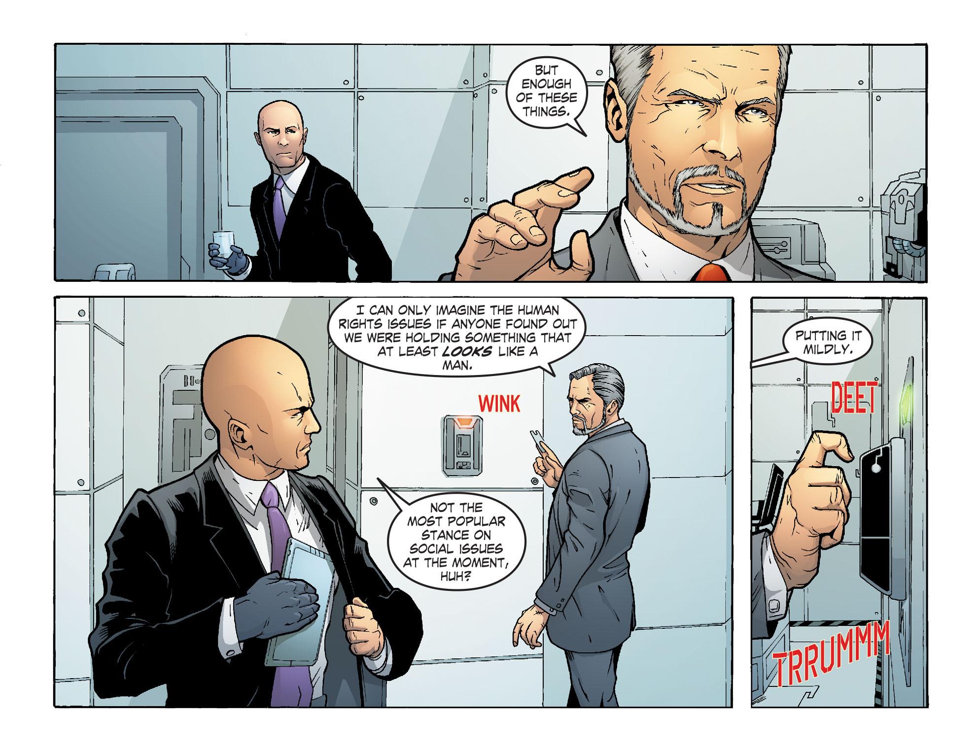 Read online Smallville: Alien comic -  Issue #5 - 7
