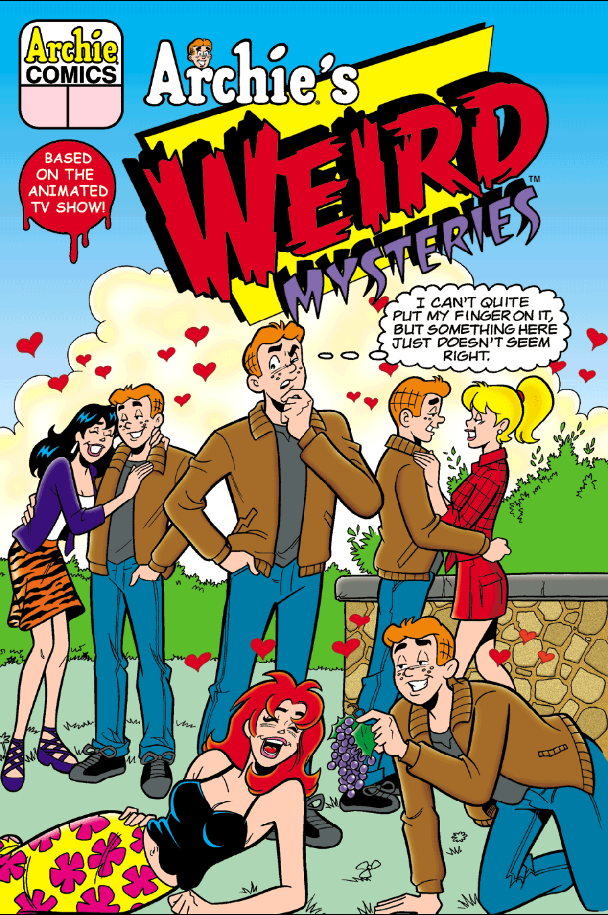 Read online Archie's Weird Mysteries comic -  Issue #4 - 1