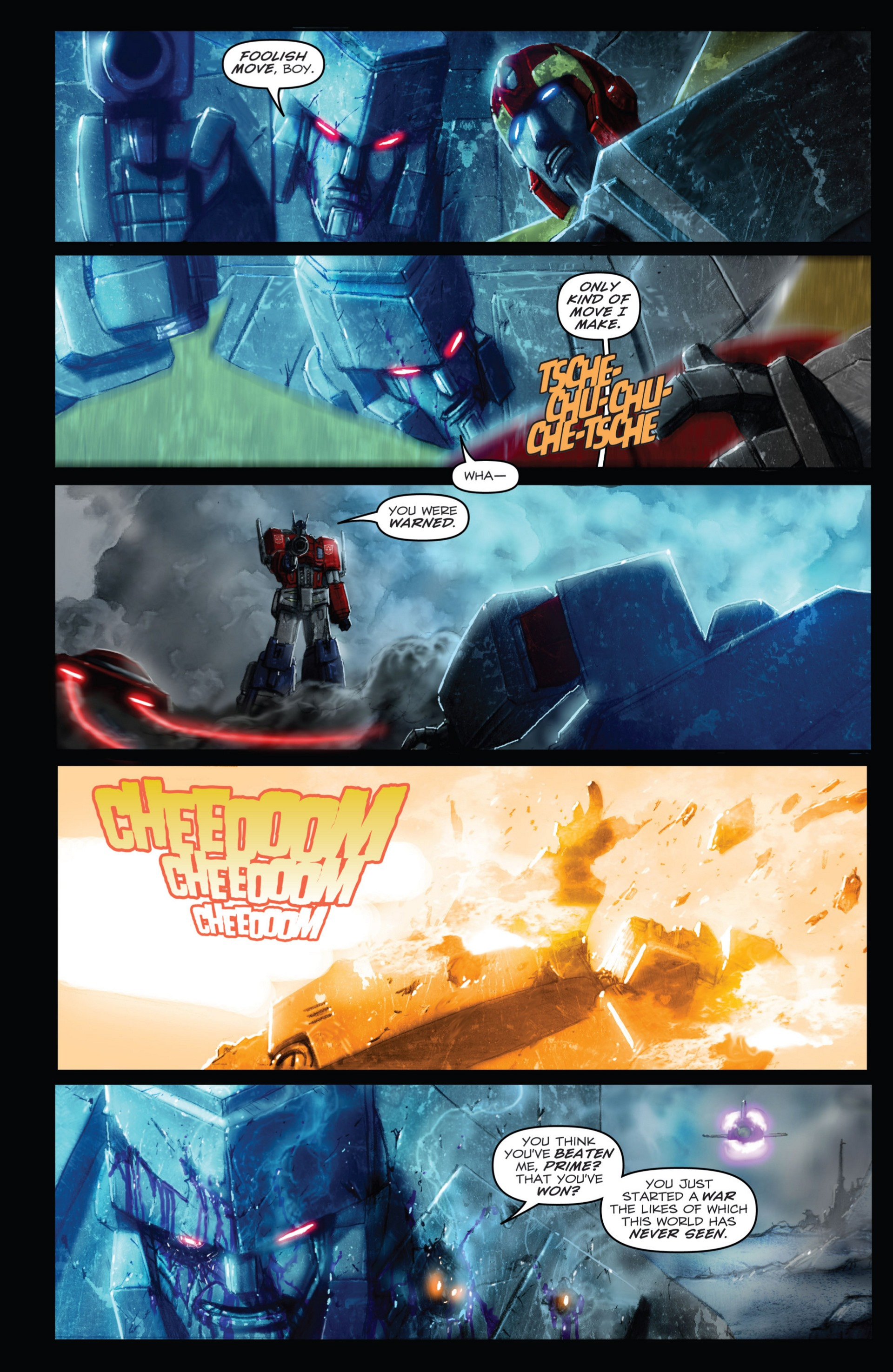 Read online Transformers: Autocracy comic -  Issue # Full - 114