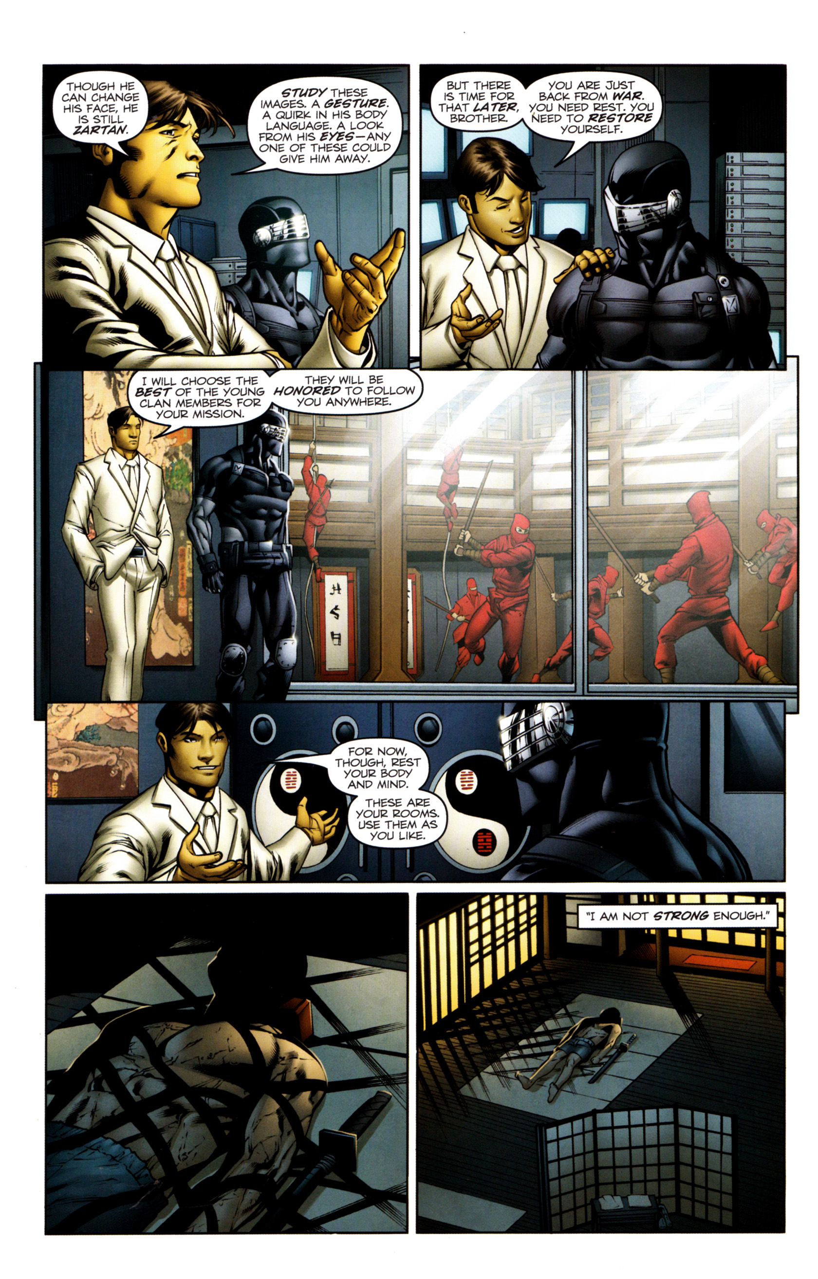Read online Snake Eyes and Storm Shadow comic -  Issue #13 - 8