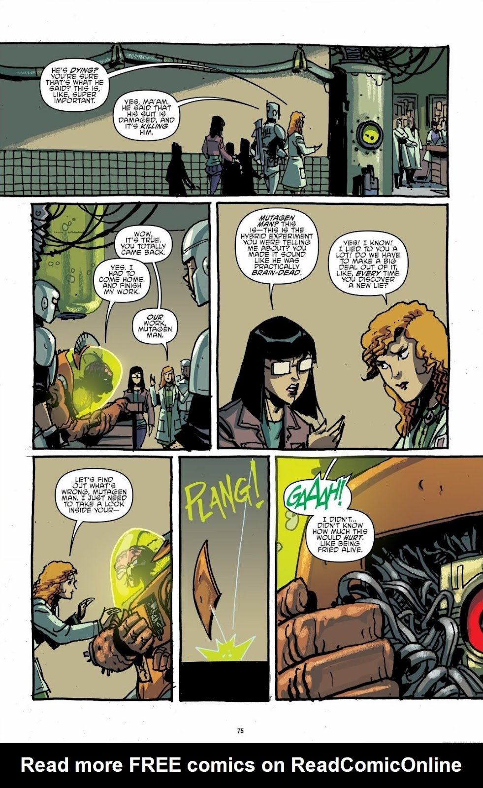 Read online Teenage Mutant Ninja Turtles: The IDW Collection comic -  Issue # TPB 6 (Part 1) - 74