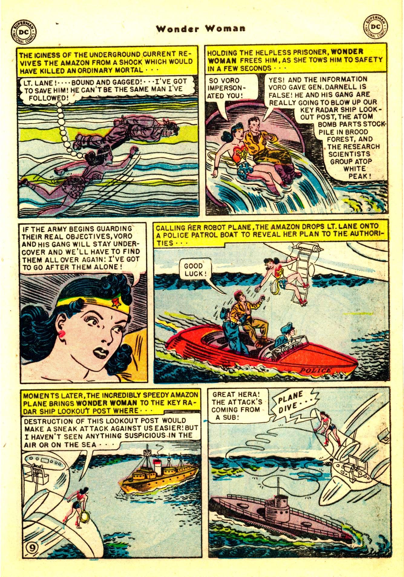 Read online Wonder Woman (1942) comic -  Issue #50 - 11