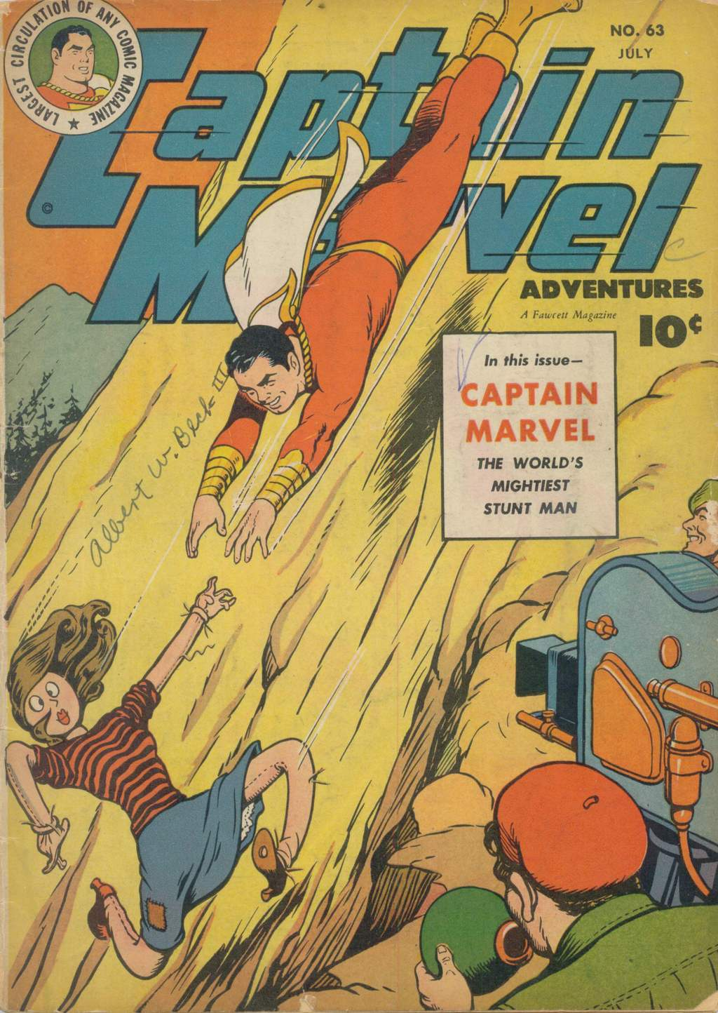 Captain Marvel Adventures issue 63 - Page 1