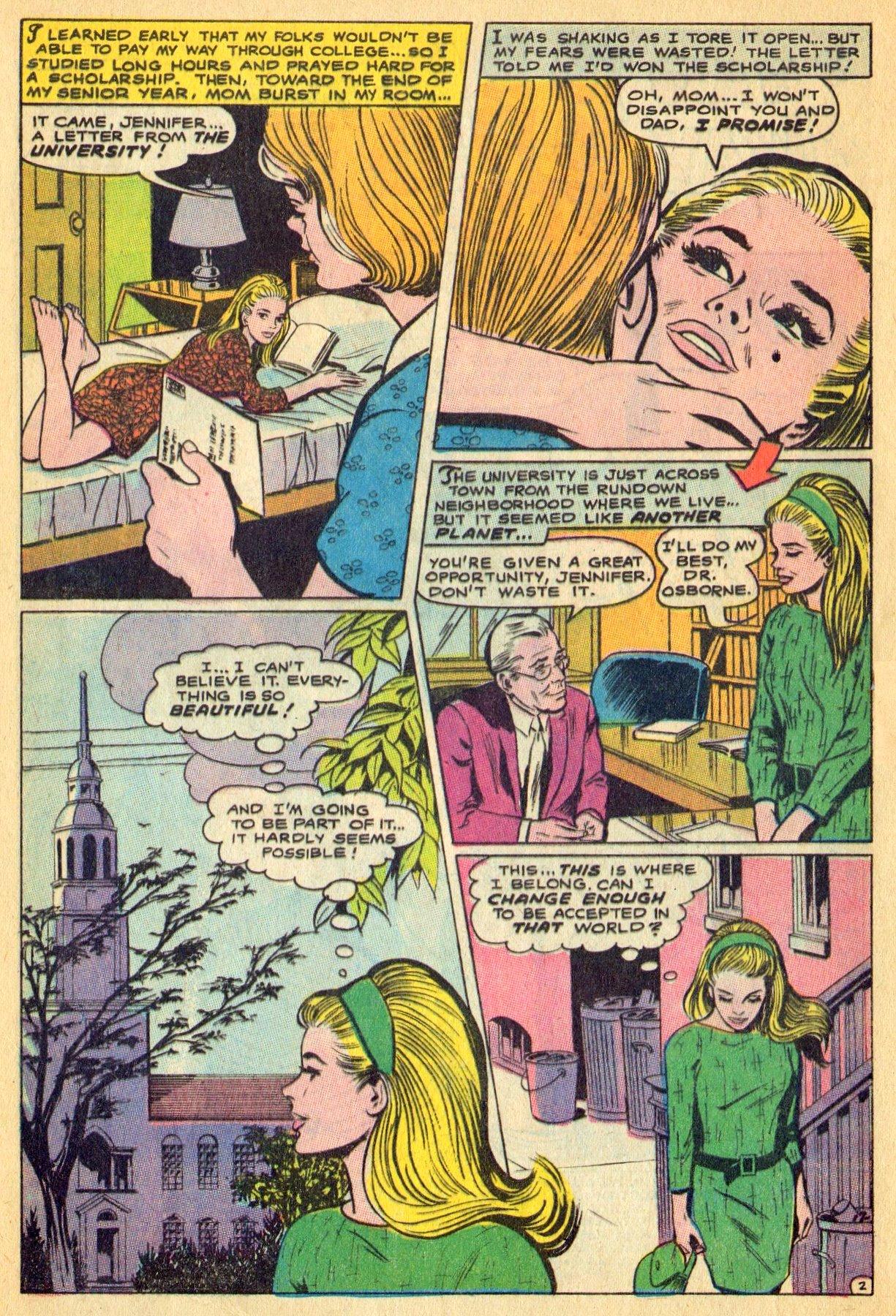 Read online Secret Hearts comic -  Issue #134 - 4