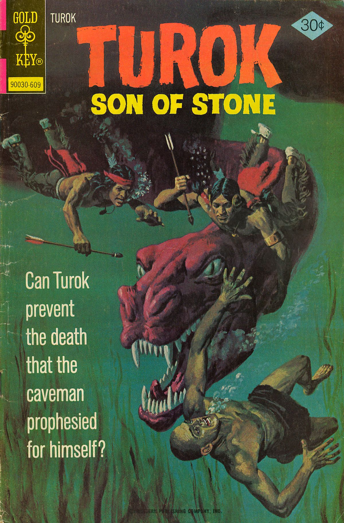 Read online Turok, Son of Stone comic -  Issue #105 - 1