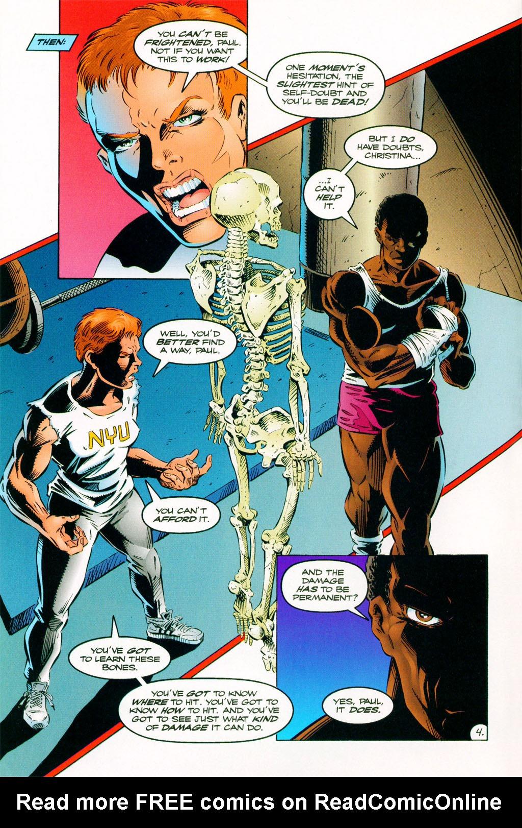 Read online ShadowHawk comic -  Issue #11 - 5