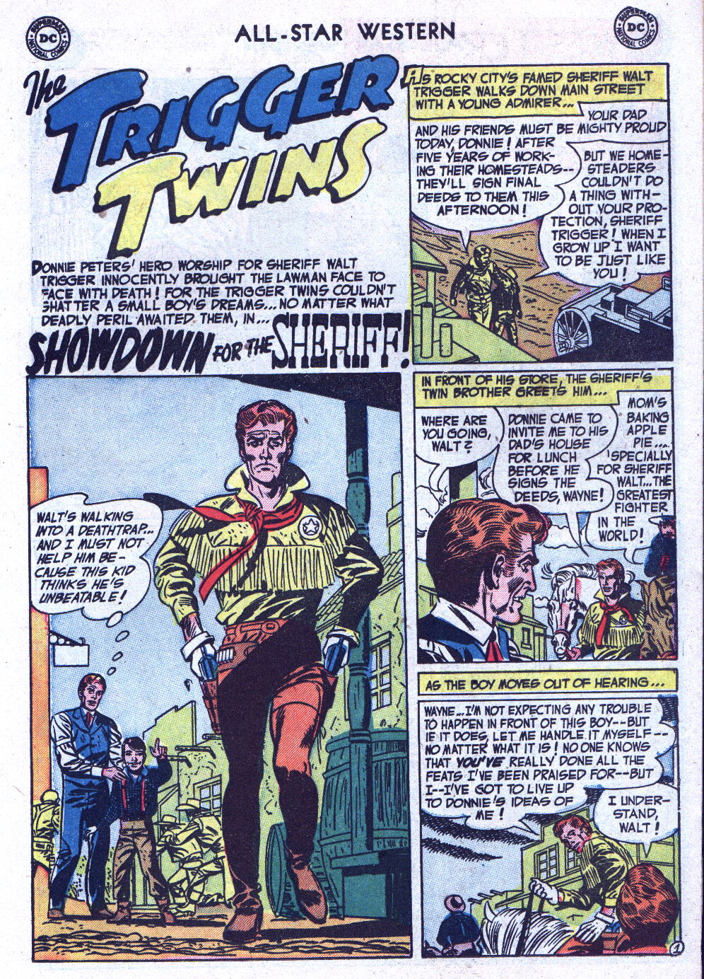 Read online All-Star Western (1951) comic -  Issue #71 - 11