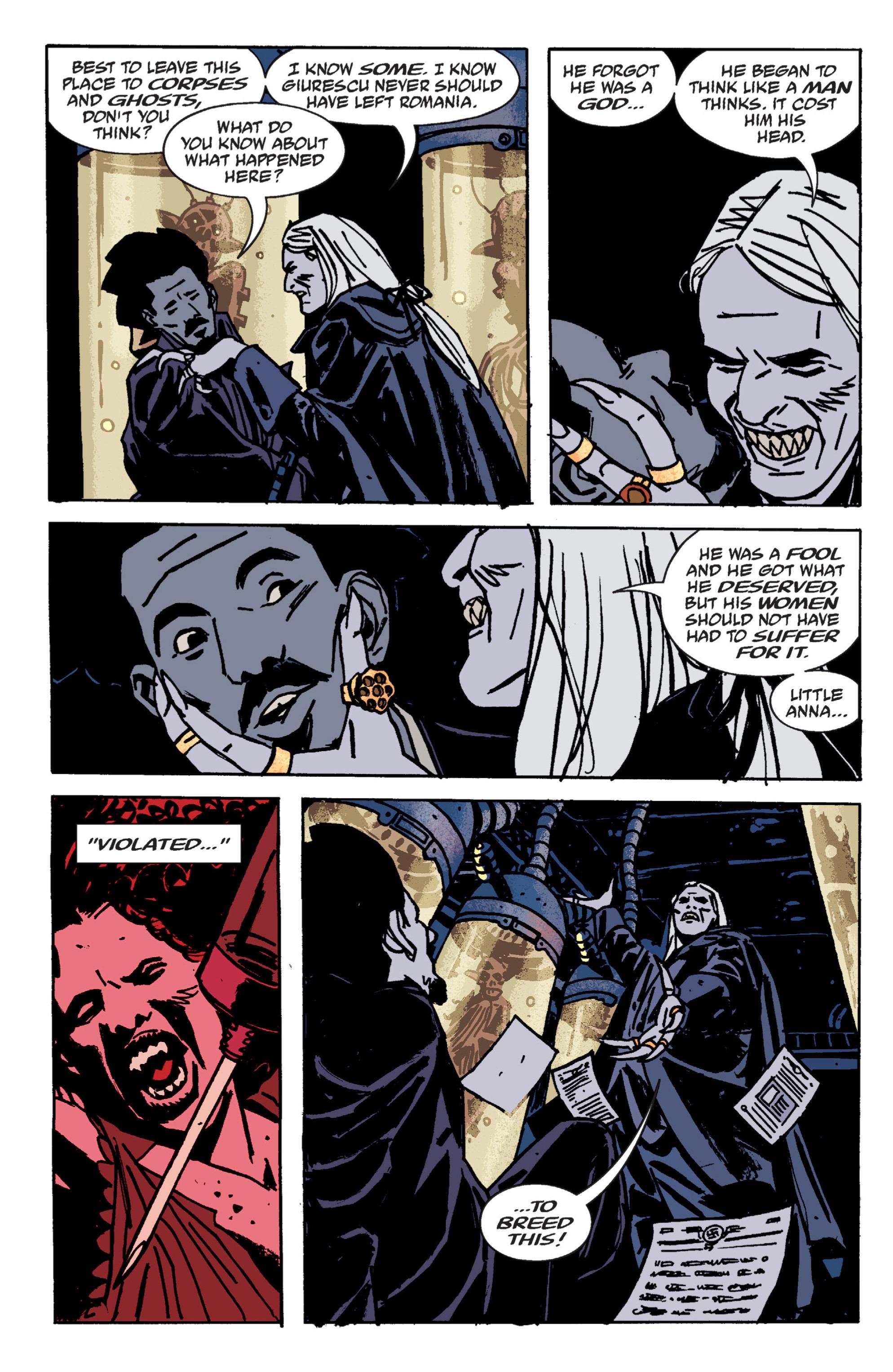 Read online B.P.R.D. (2003) comic -  Issue # TPB 9 - 76