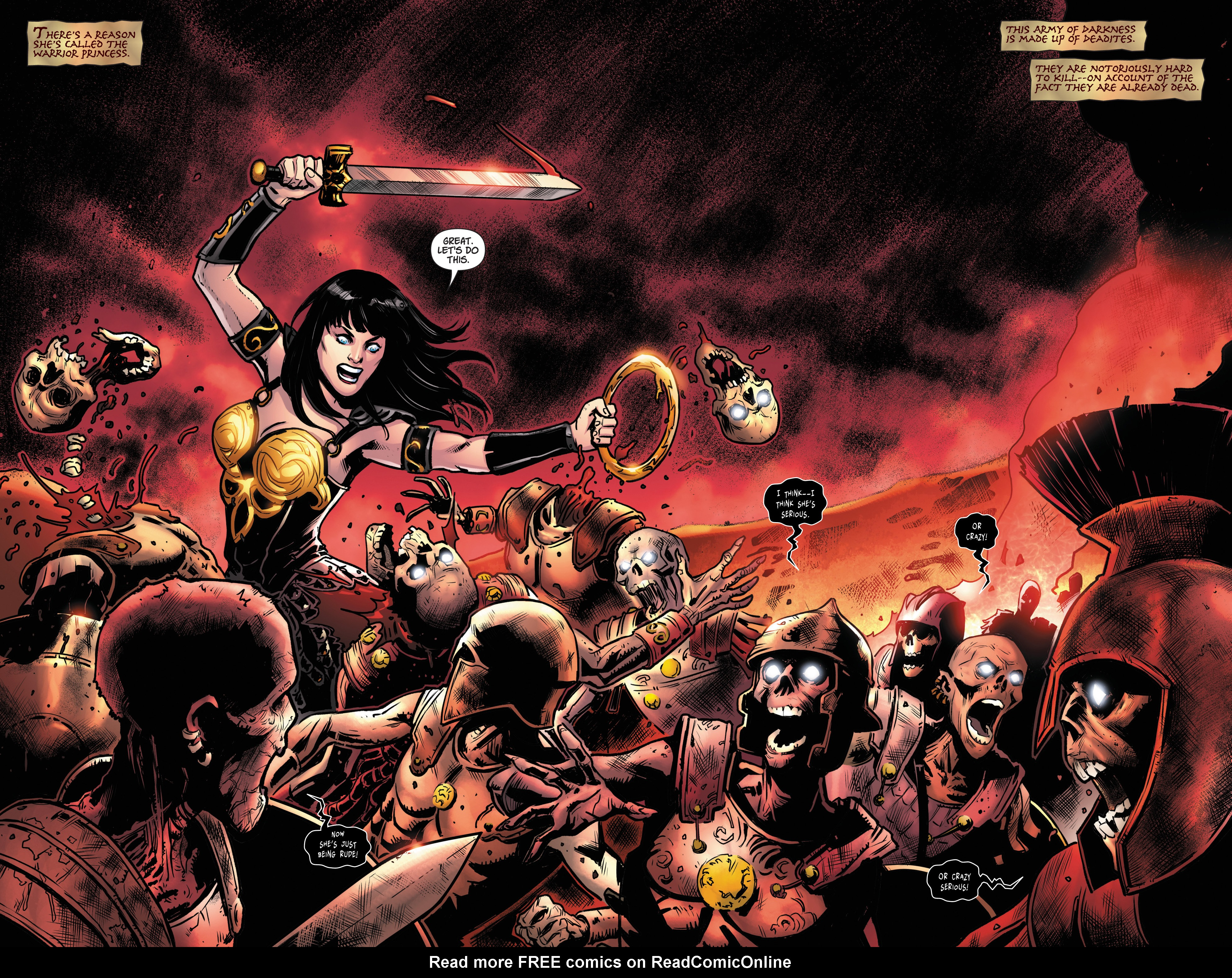 Read online Army Of Darkness/Xena: Forever…And A Day comic -  Issue #5 - 4