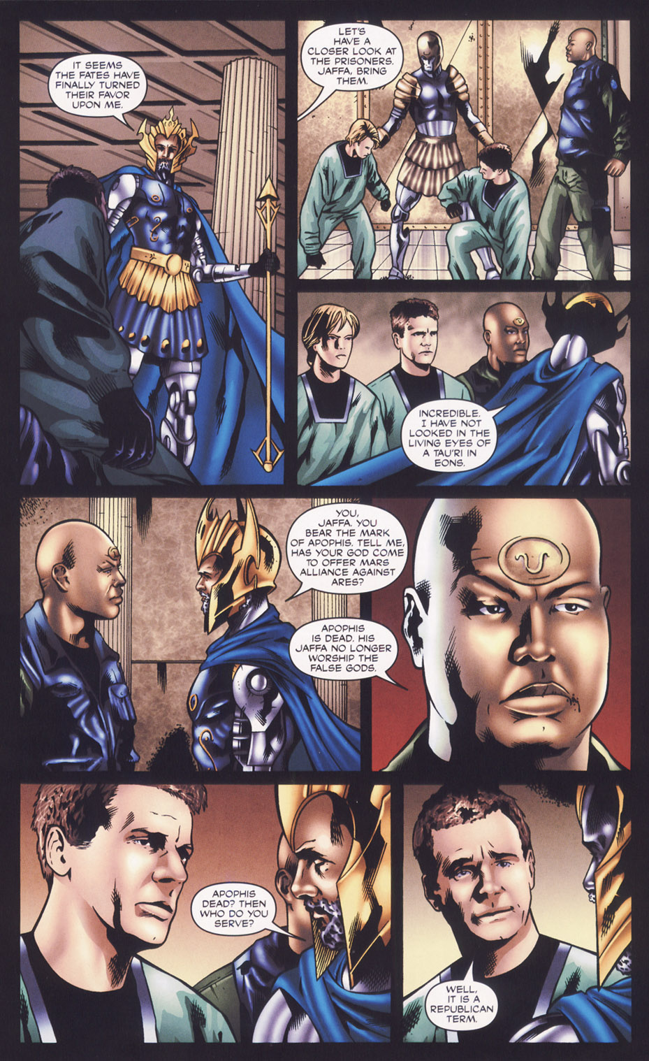 Read online Stargate SG-1: Fall of Rome comic -  Issue #2 - 11