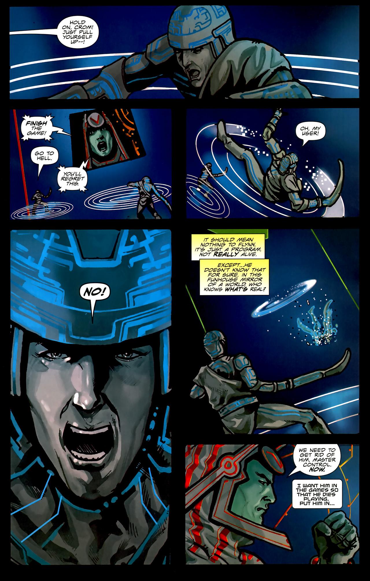 Read online TRON: Original Movie Adaptation comic -  Issue #2 - 6