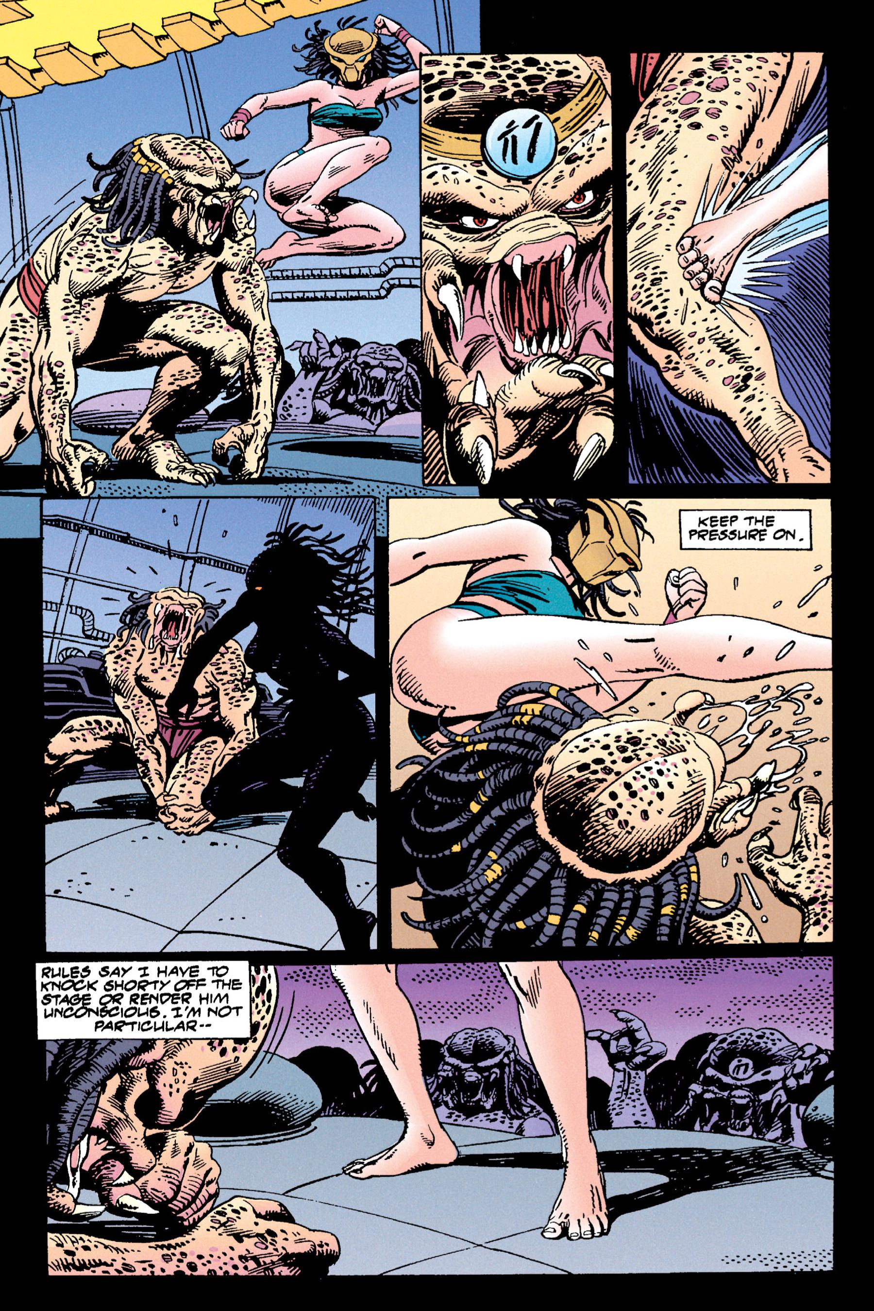 Read online Aliens vs. Predator Omnibus comic -  Issue # _TPB 1 Part 3 - 58