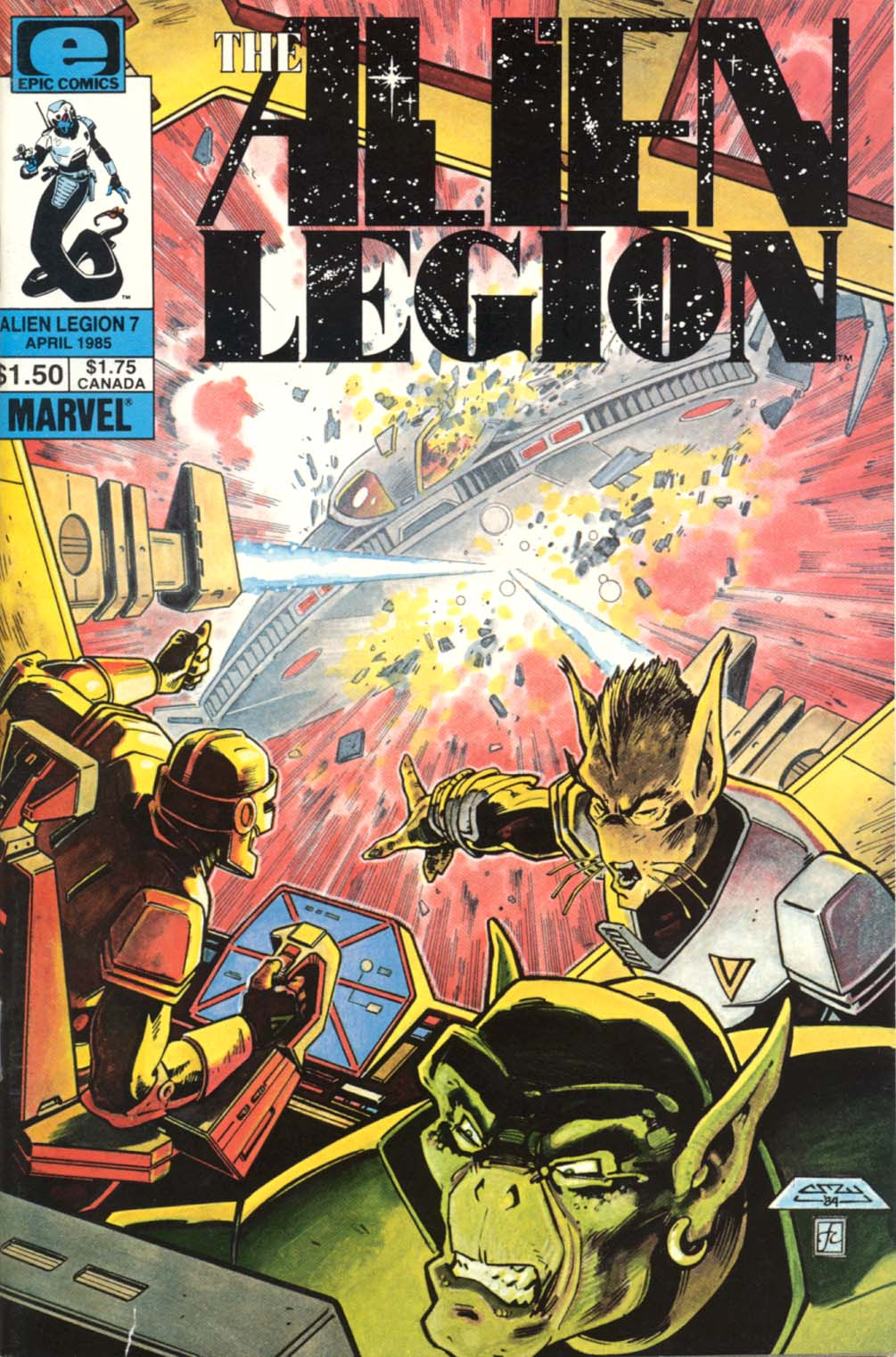 Read online Alien Legion comic -  Issue #7 - 1
