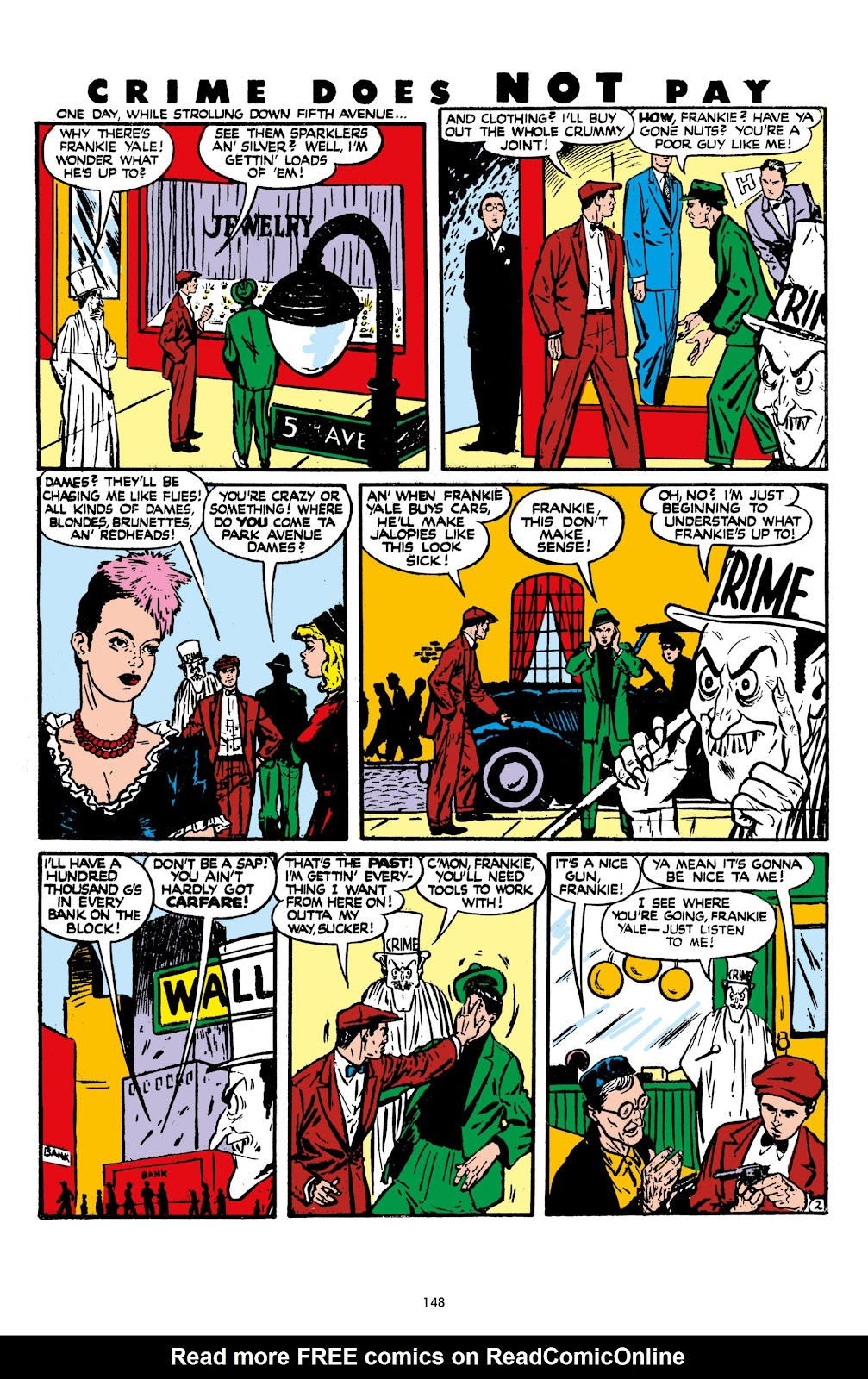 Read online Crime Does Not Pay Archives comic -  Issue # TPB 7 (Part 2) - 50