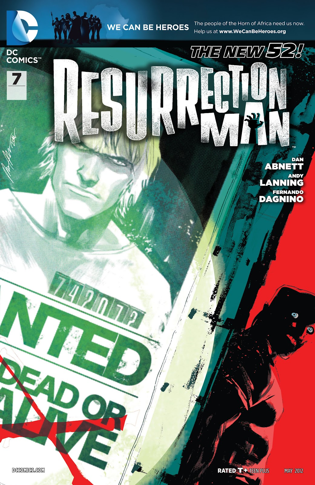Resurrection Man (2011) 7 Page 1