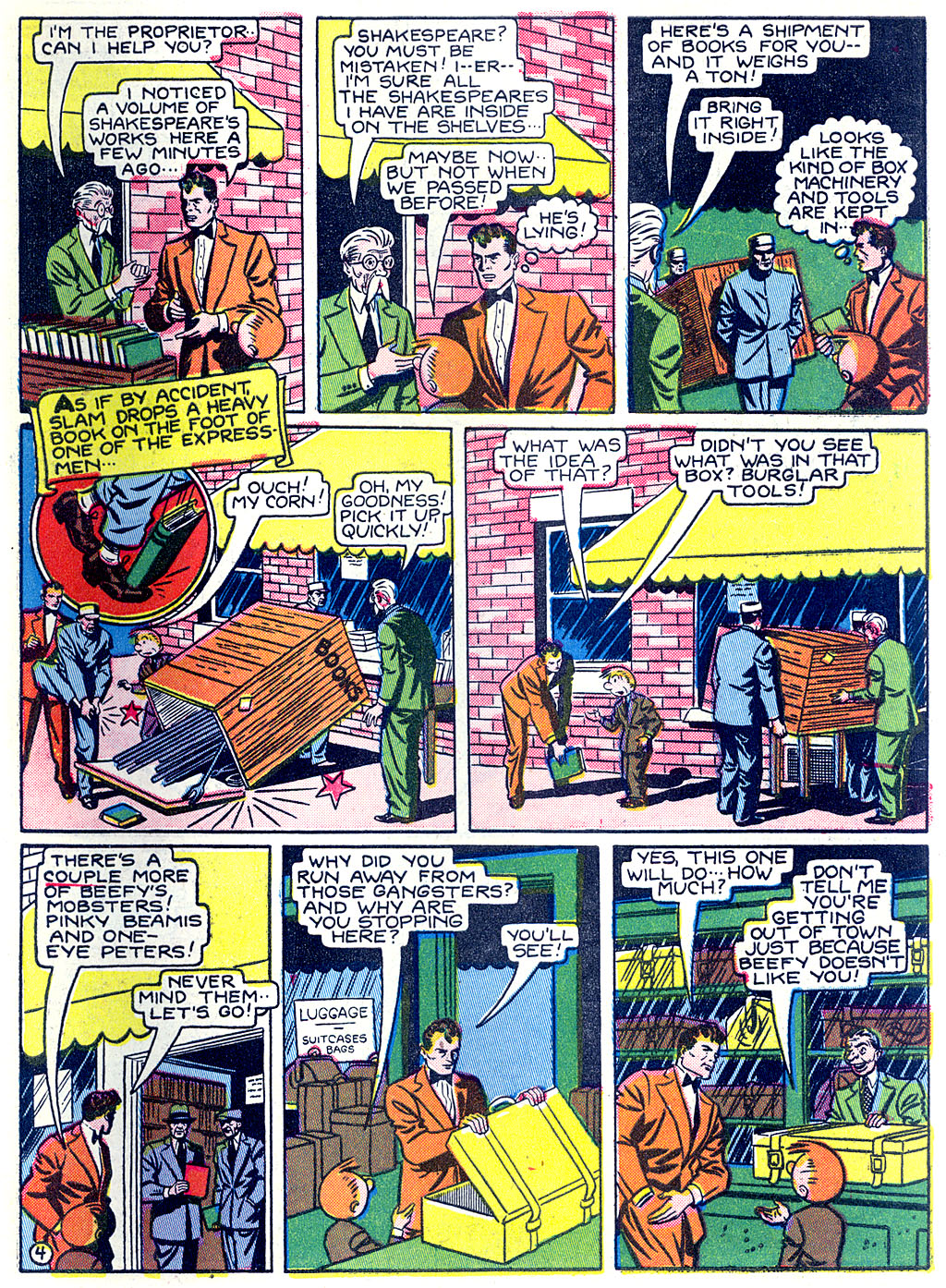 Read online Detective Comics (1937) comic -  Issue #68 - 61