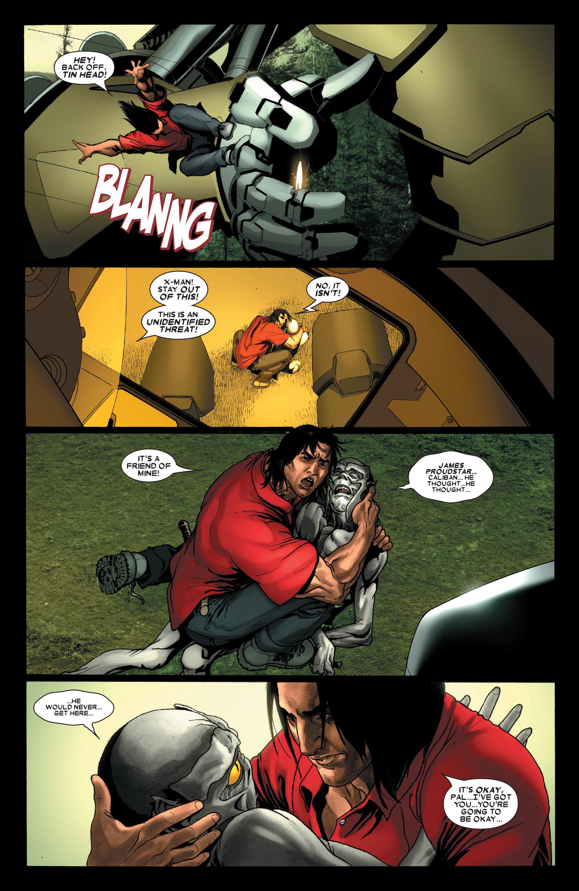 Read online Uncanny X-Men (1963) comic -  Issue #487 - 16