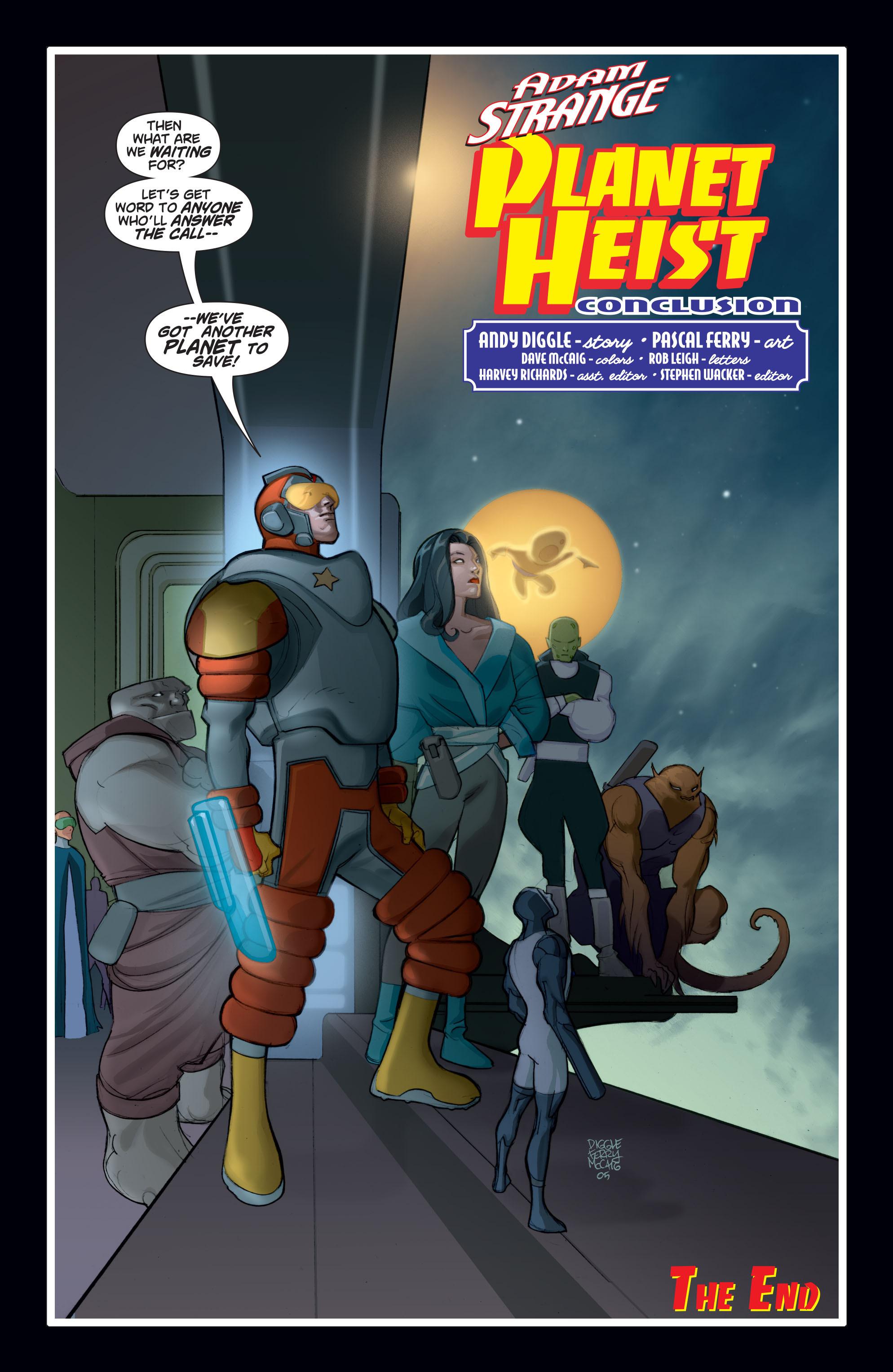 Read online Adam Strange (2004) comic -  Issue #8 - 23