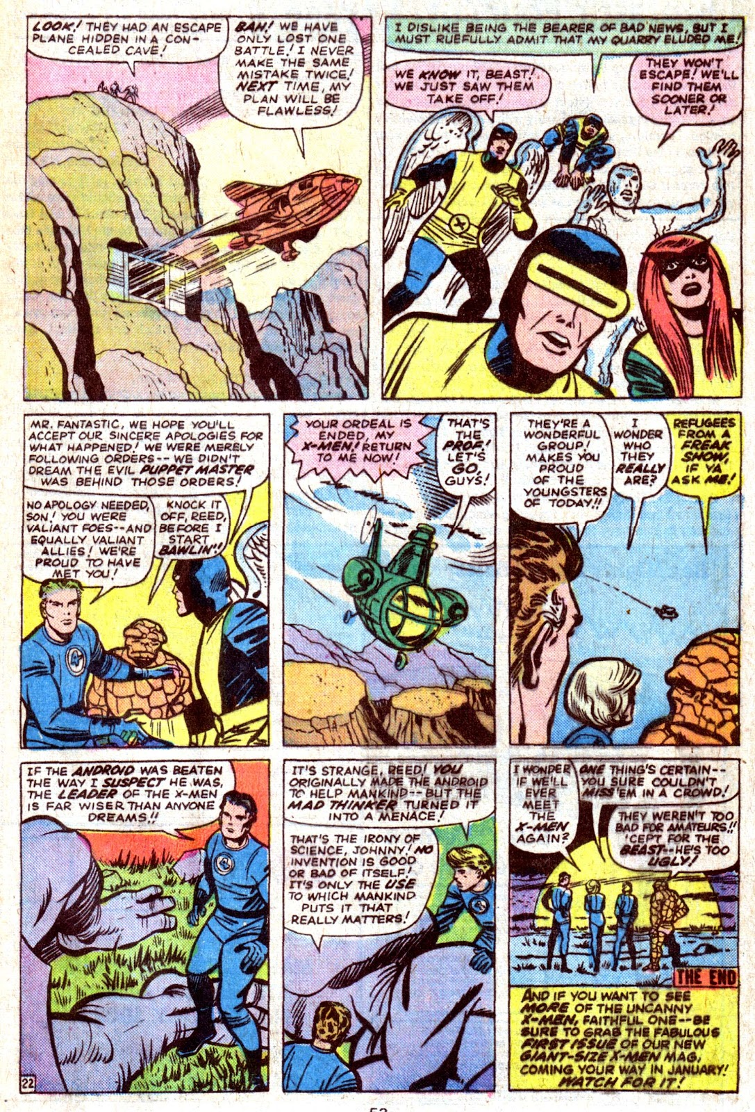 Giant-Size Fantastic Four issue 4 - Page 55