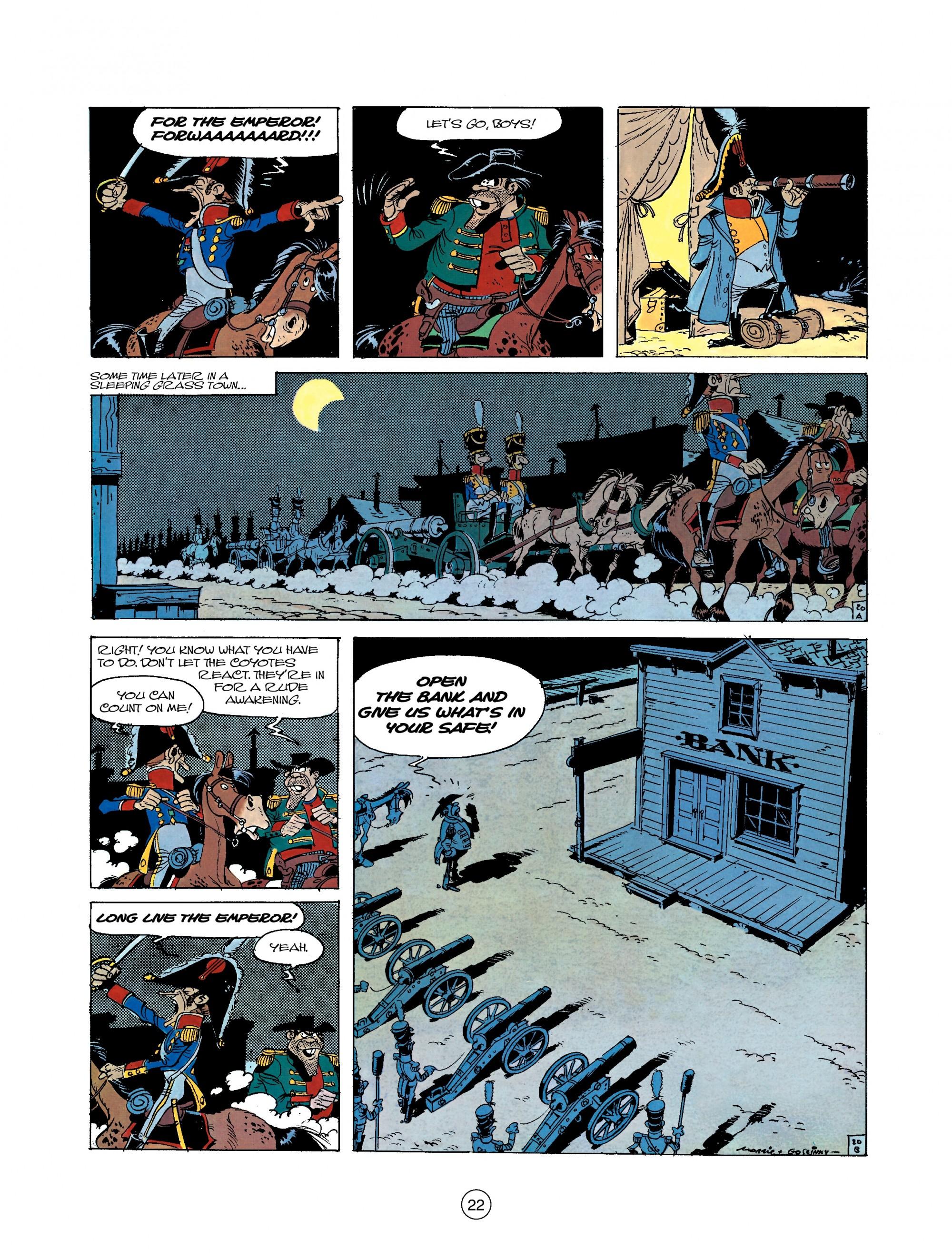 Read online A Lucky Luke Adventure comic -  Issue #22 - 22