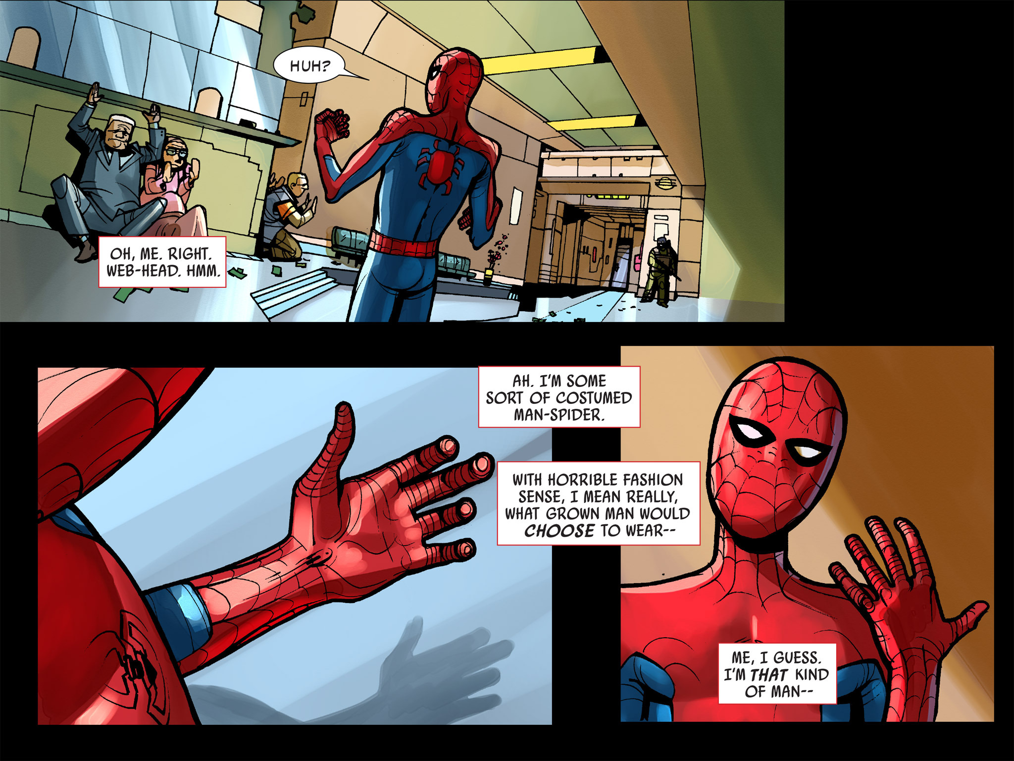 Read online Amazing Spider-Man: Who Am I? comic -  Issue # Full (Part 1) - 17