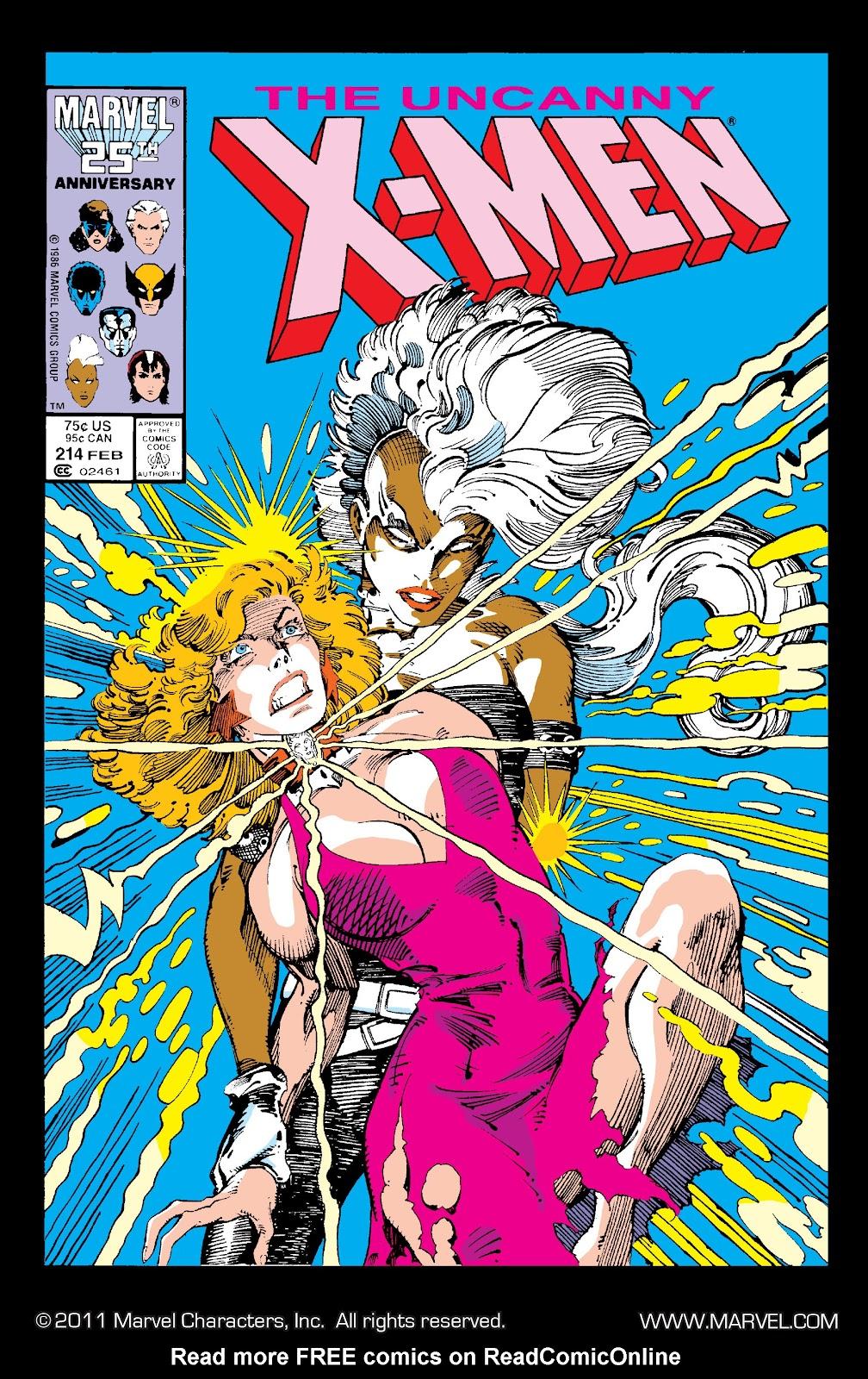 Uncanny X-Men (1963) issue 214 - Page 1