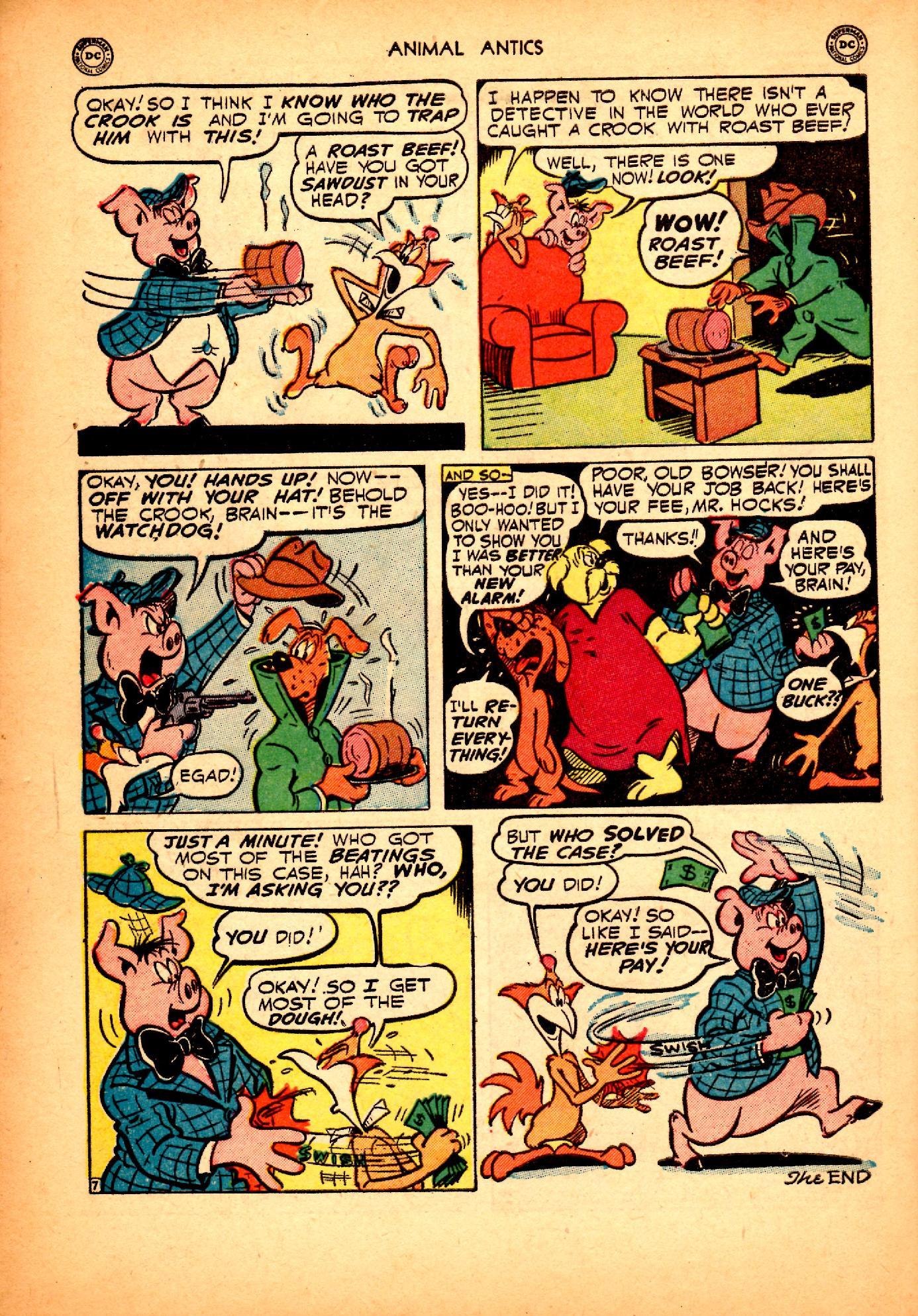 Read online Animal Antics comic -  Issue #25 - 44